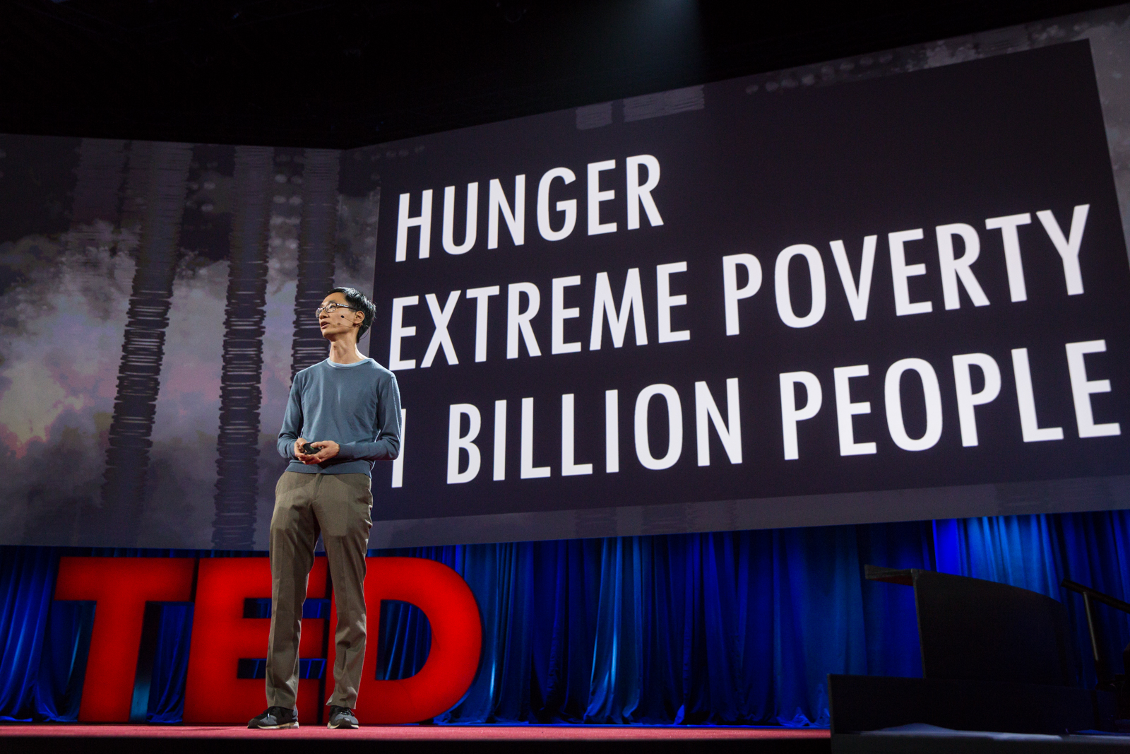 Andrew Youn speaks at TED2016 - Dream, February 15-19, 2016, Vancouver Convention Center, Vancouver, Canada. Photo: Bret Hartman / TED