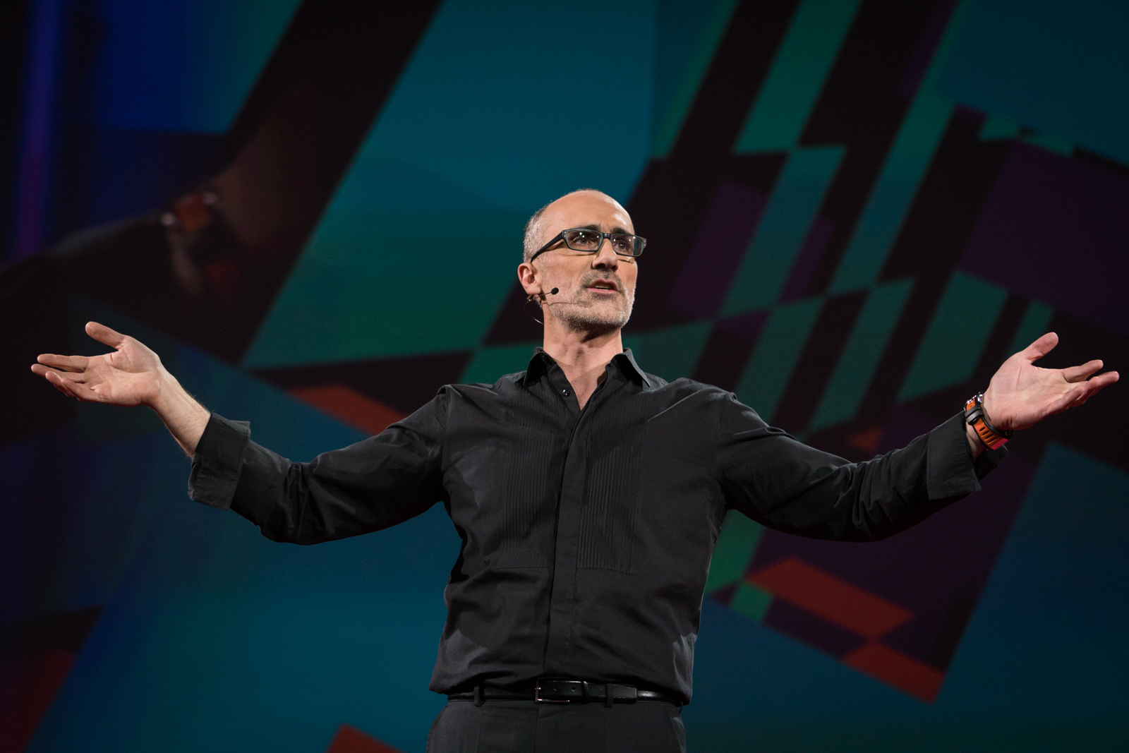 Arthur Brooks speaks at TED2016 - Dream, February 15-19, 2016, Vancouver Convention Center, Vancouver, Canada. Photo: Bret Hartman / TED