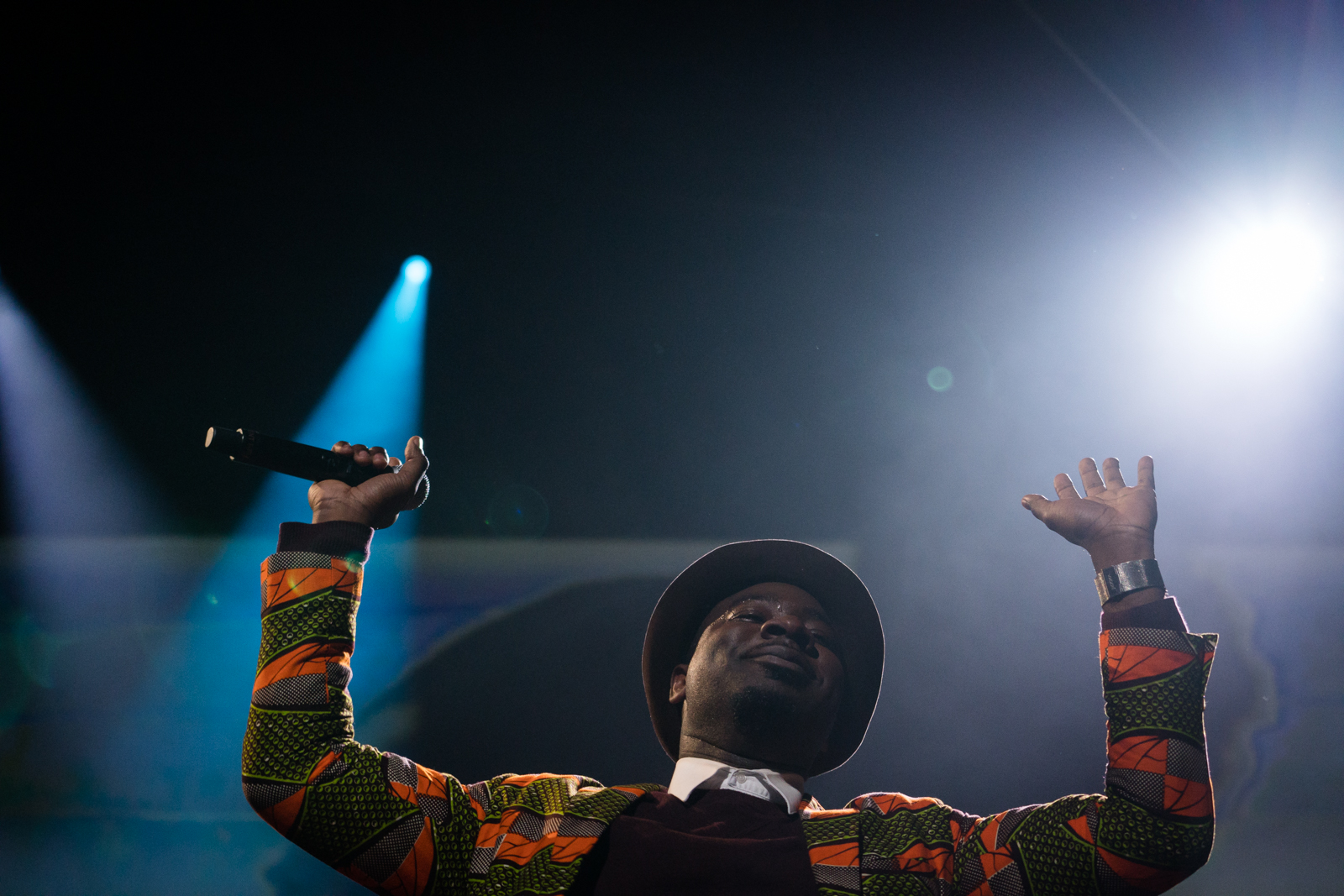 Blitz the Ambassador performs at TED2016 - Dream, February 15-19, 2016, Vancouver Convention Center, Vancouver, Canada. Photo: Bret Hartman / TED