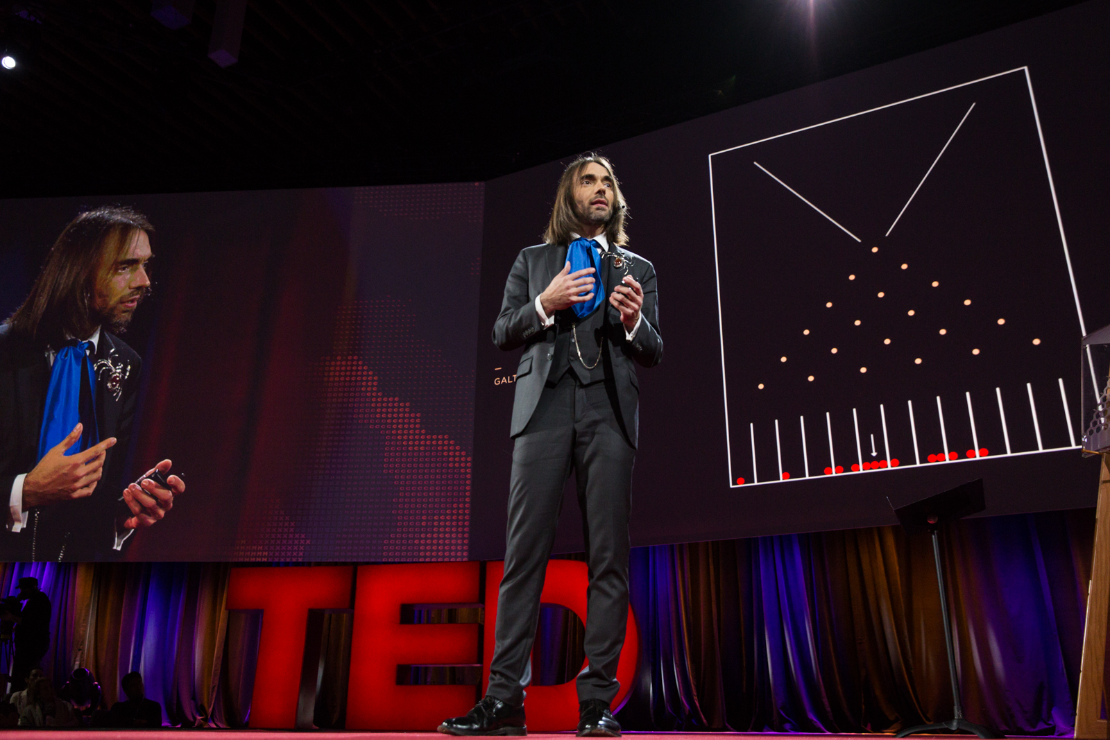 Cédric Villani speaks at TED2016 - Dream, February 15-19, 2016, Vancouver Convention Center, Vancouver, Canada. Photo: Bret Hartman / TED