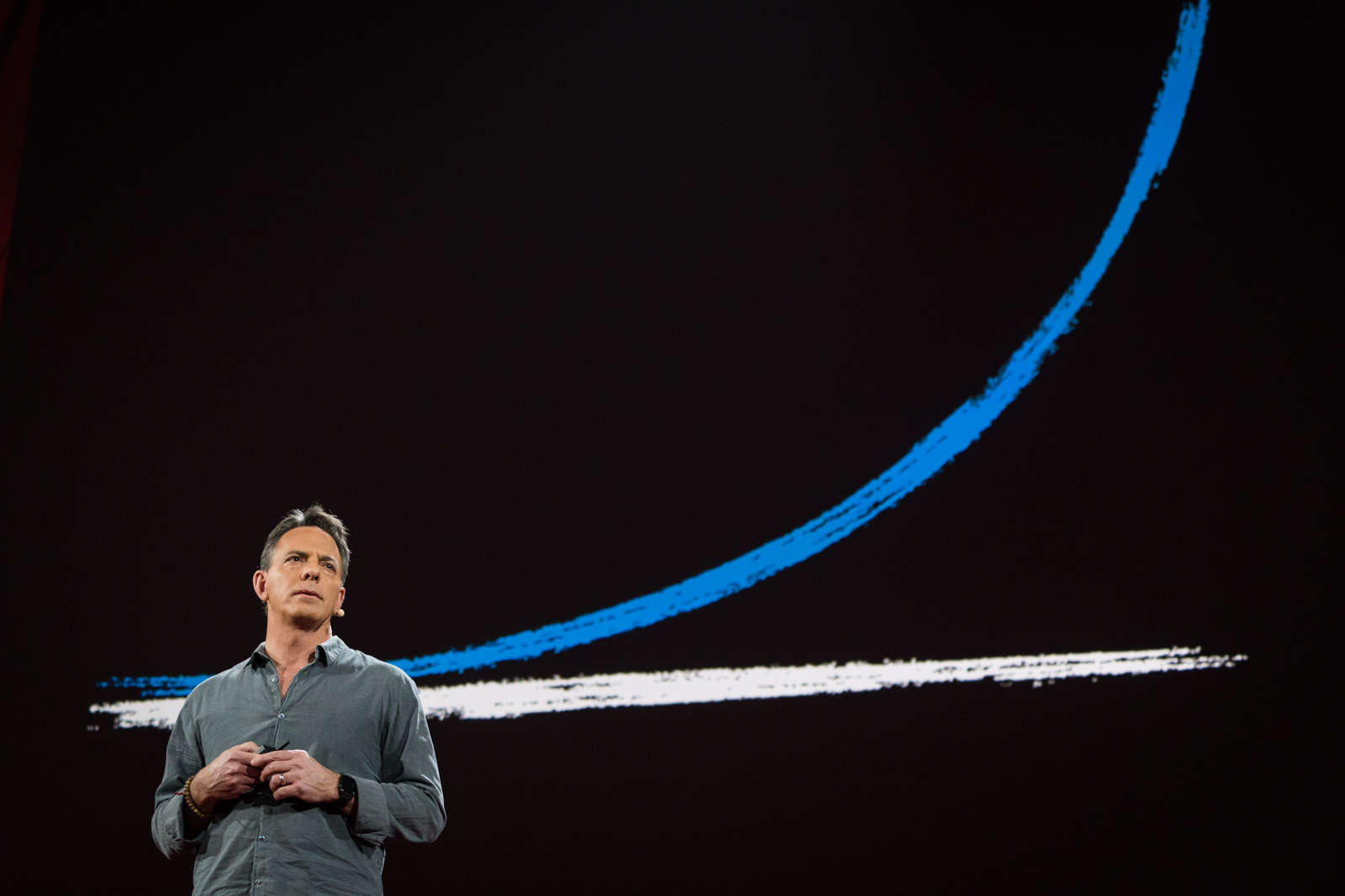 Dan Pallotta speaks at TED2016 - Dream, February 15-19, 2016, Vancouver Convention Center, Vancouver, Canada. Photo: Bret Hartman / TED