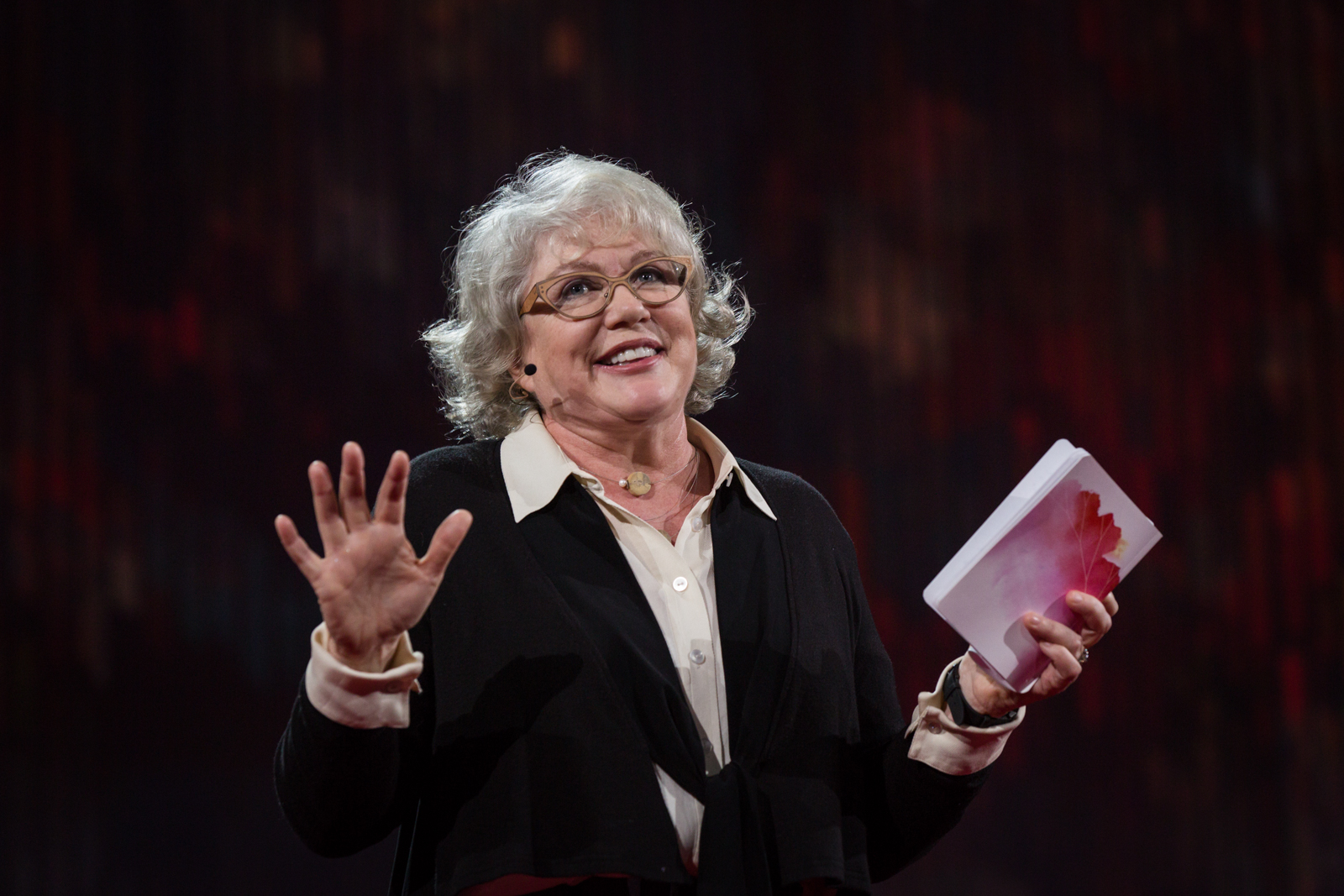 Julia Sweeney speaks at TED2016 - Dream, February 15-19, 2016, Vancouver Convention Center, Vancouver, Canada. Photo: Ryan Lash / TED