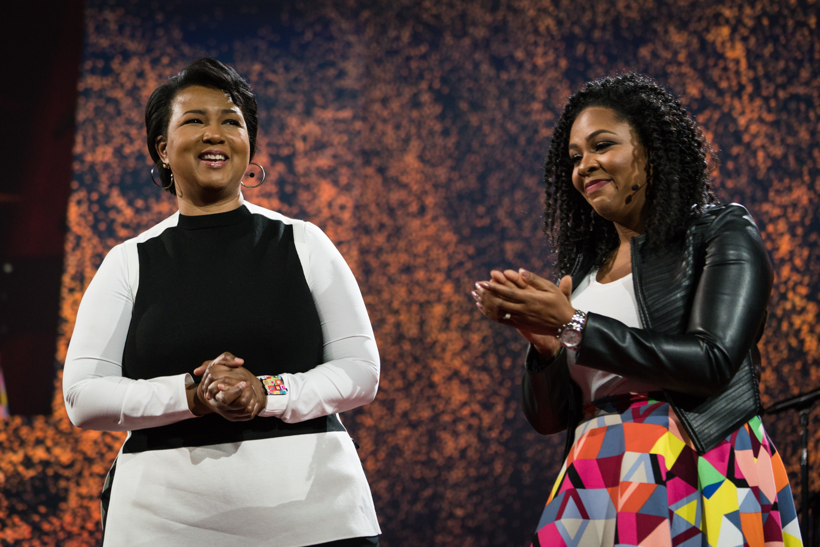 Mae Jemison speaks at TED2016 - Dream, February 15-19, 2016, Vancouver Convention Center, Vancouver, Canada. Photo: Bret Hartman / TED