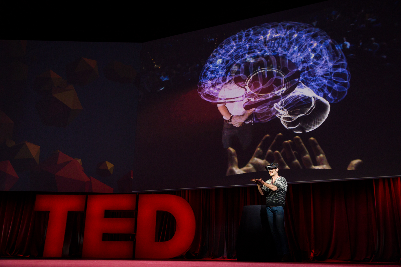 Meron Gribetz speaks at TED2016 - Dream, February 15-19, 2016, Vancouver Convention Center, Vancouver, Canada. Photo: Bret Hartman / TED
