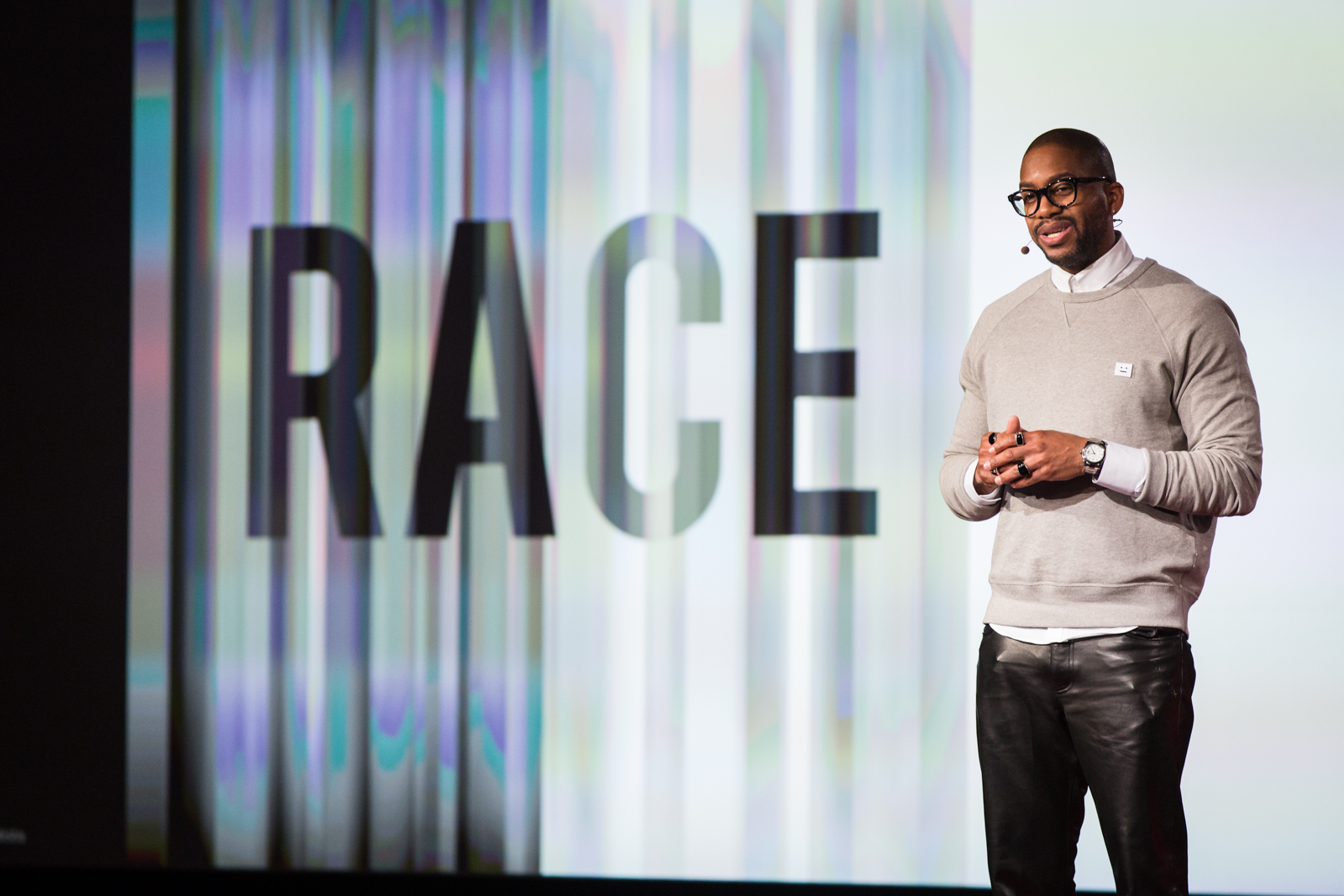 Mitchell Jackson speaks at TED2016 - Dream, February 15-19, 2016, Vancouver Convention Center, Vancouver, Canada. Photo: Ryan Lash / TED