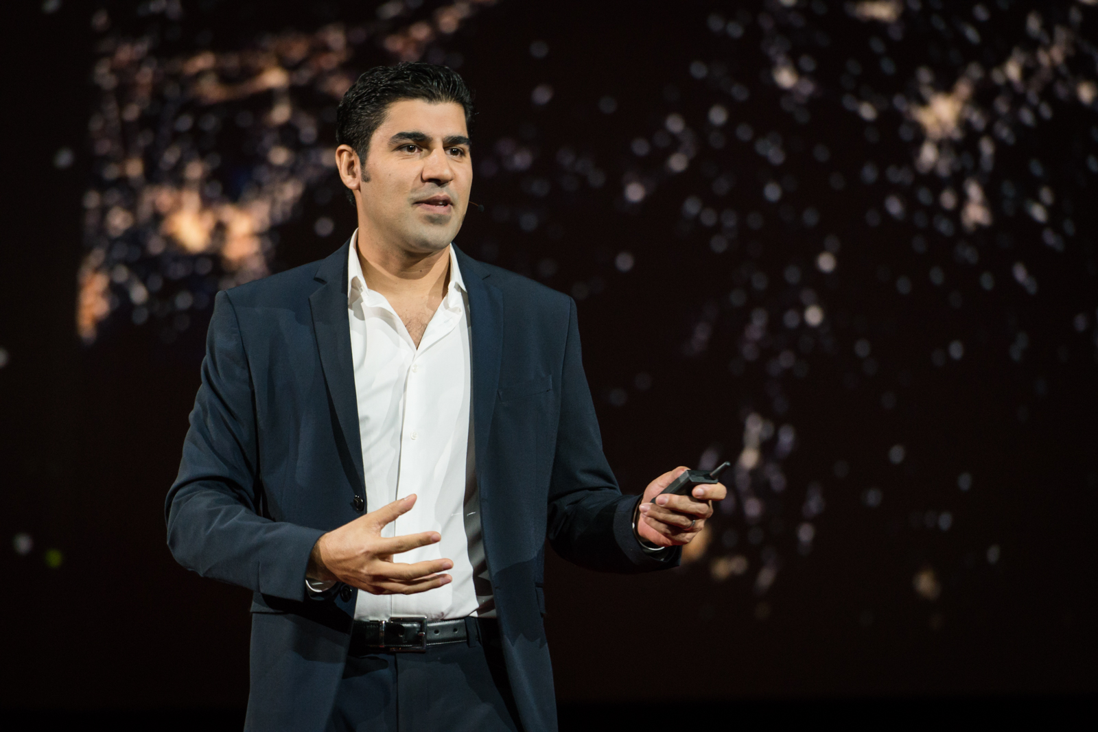 Parag Khanna speaks at TED2016 - Dream, February 15-19, 2016, Vancouver Convention Center, Vancouver, Canada. Photo: Bret Hartman / TED