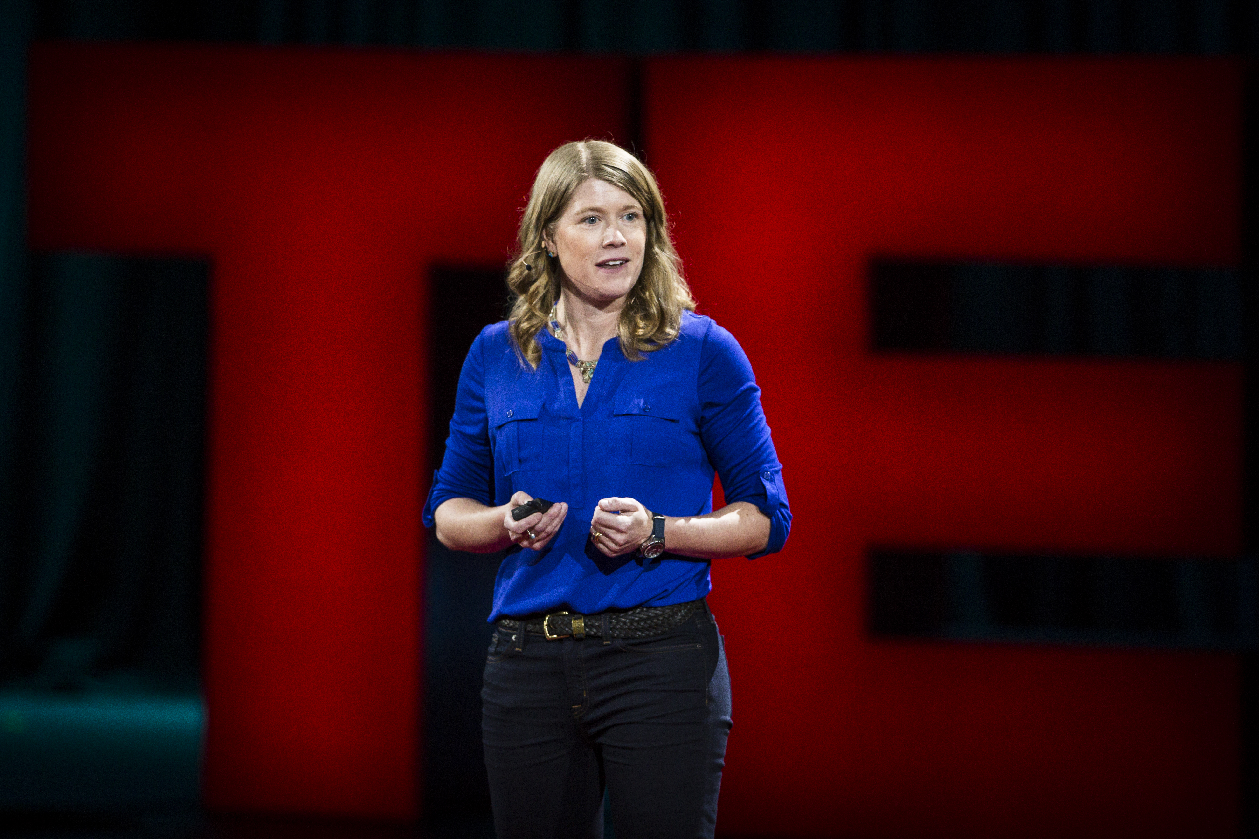 Sarah Parcak is the winner of the 2016 TED Prize. She explains how anyone can be a space archaeologist on their coffee break. Photo: Marla Aufmuth / TED
