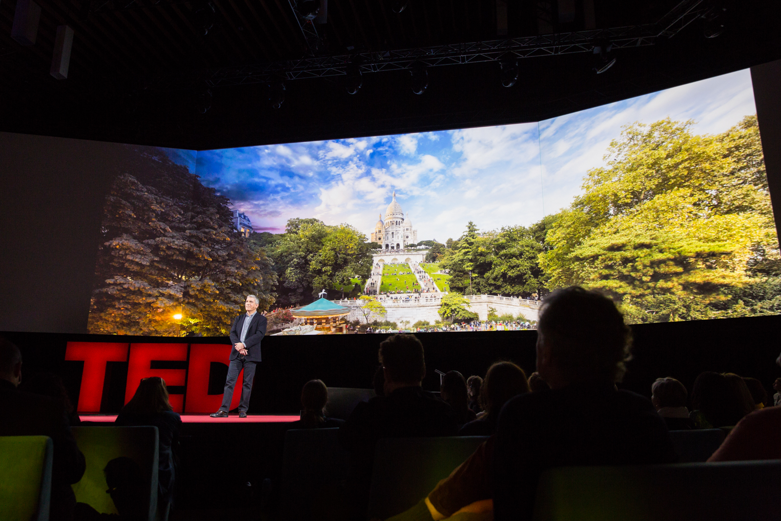 Stephen Wilkes speaks at TED2016 - Dream, February 15-19, 2016, Vancouver Convention Center, Vancouver, Canada. Photo: Bret Hartman / TED