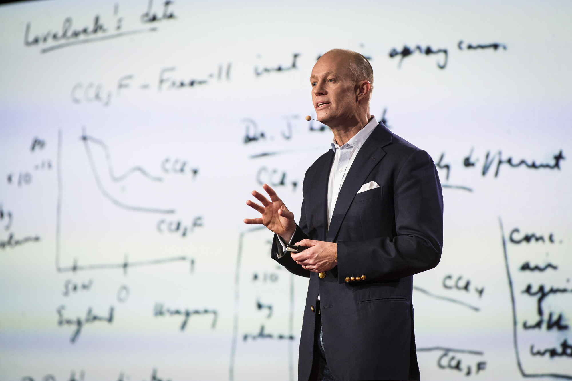 Jason Pontin at TED University. TED2016. February 15-19, 2016, Vancouver Convention Center, Vancouver, Canada. Photo: Ryan Lash / TED