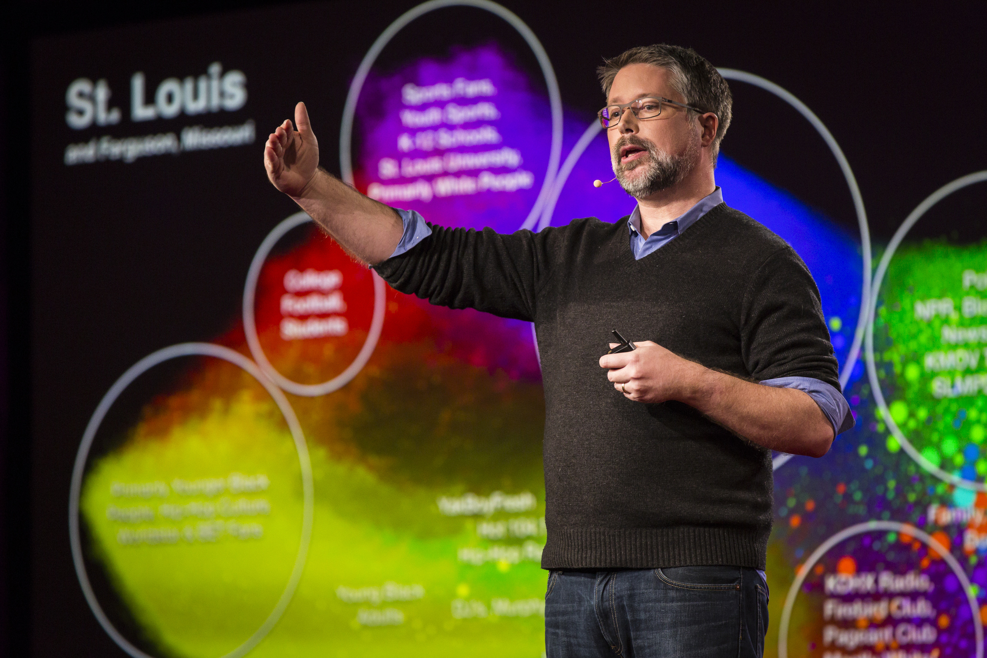 Dave Troy at TED University. TED2016. February 15-19, 2016, Vancouver Convention Center, Vancouver, Canada. Photo: Ryan Lash / TED