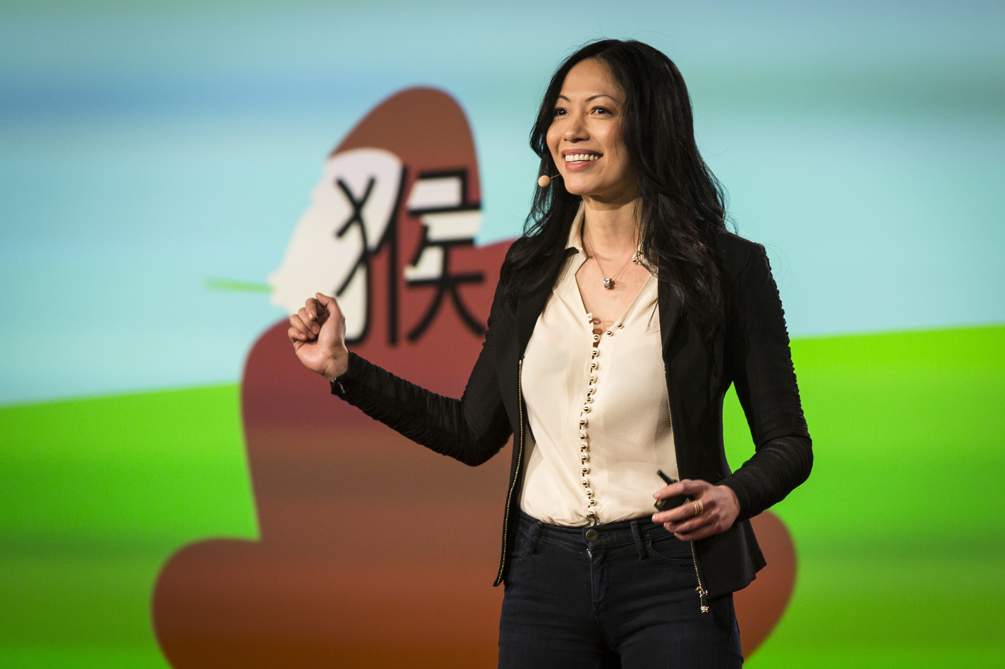 Shaolan Hsueh at TED University. TED2016. February 15-19, 2016, Vancouver Convention Center, Vancouver, Canada. Photo: Ryan Lash / TED