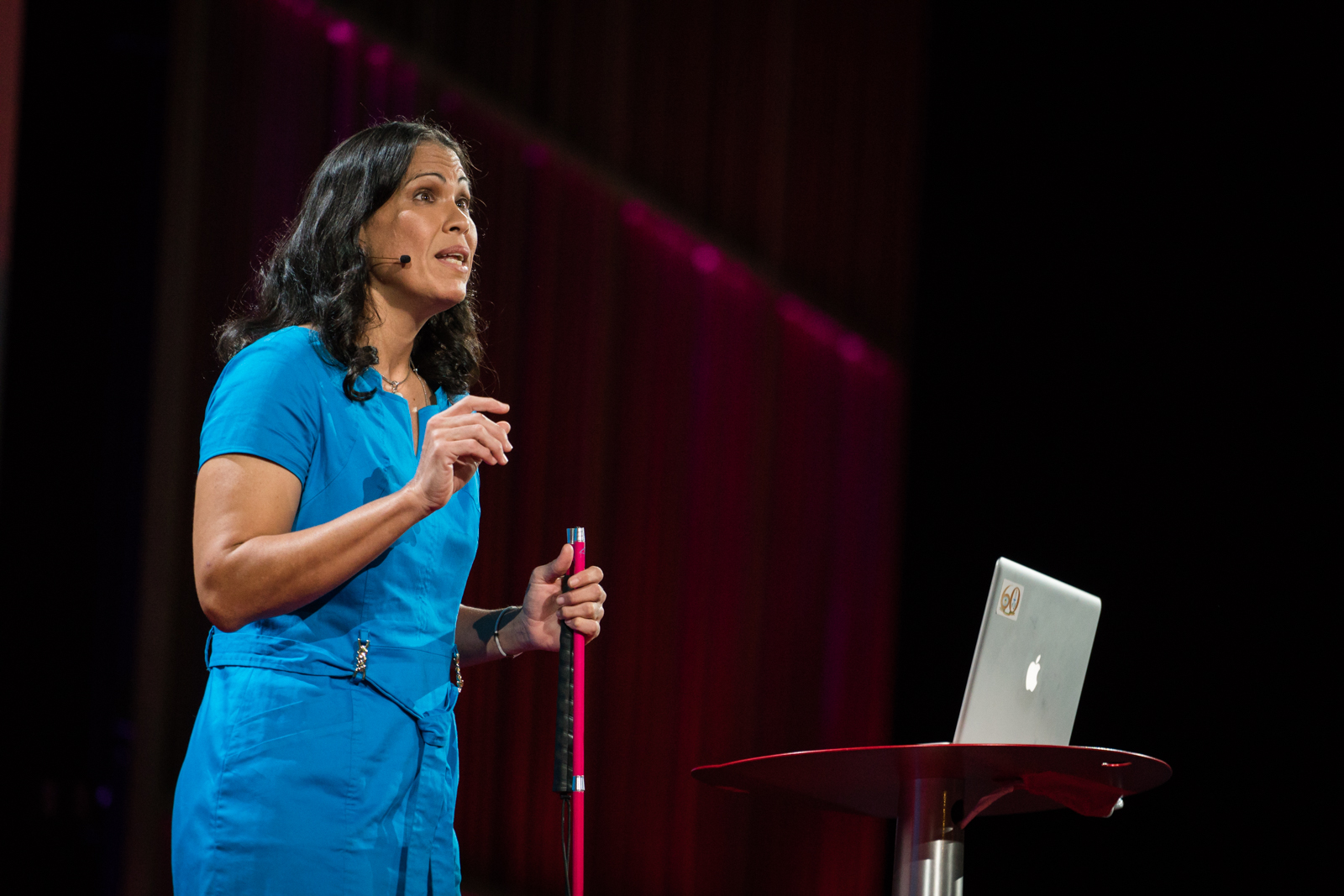 Wanda Diaz Merced speaks at TED2016 - Dream, February 15-19, 2016, Vancouver Convention Center, Vancouver, Canada. Photo: Bret Hartman / TED