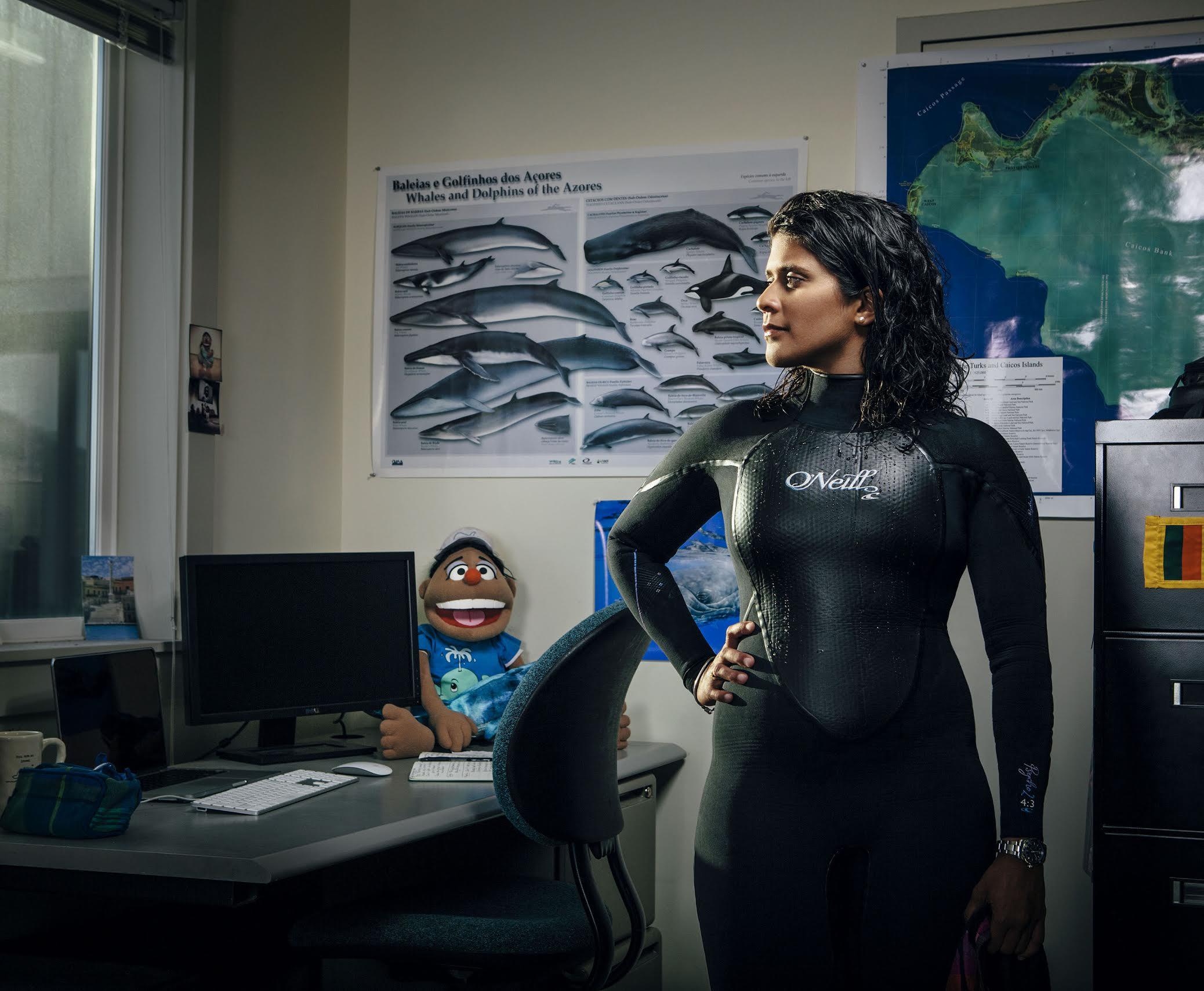 TED Fellow and 2016 National Geographic Emerging Explorer Asha de Vos. Photo: courtesy of Asha de Vos