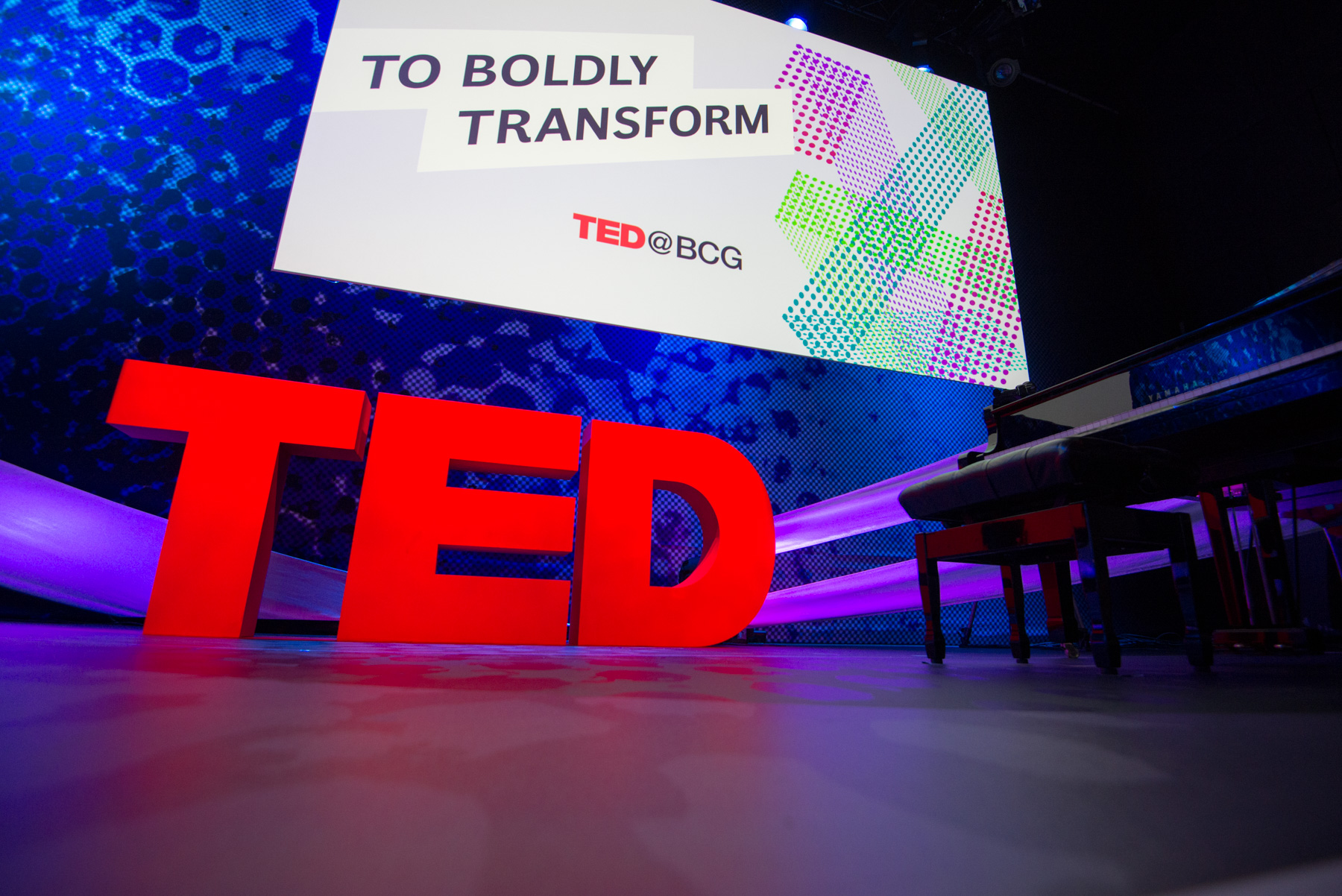 TED@BCG salon at P alais de Tokyo, May 18, 2016, Paris, France. Photo: Richard Hadley/TED
