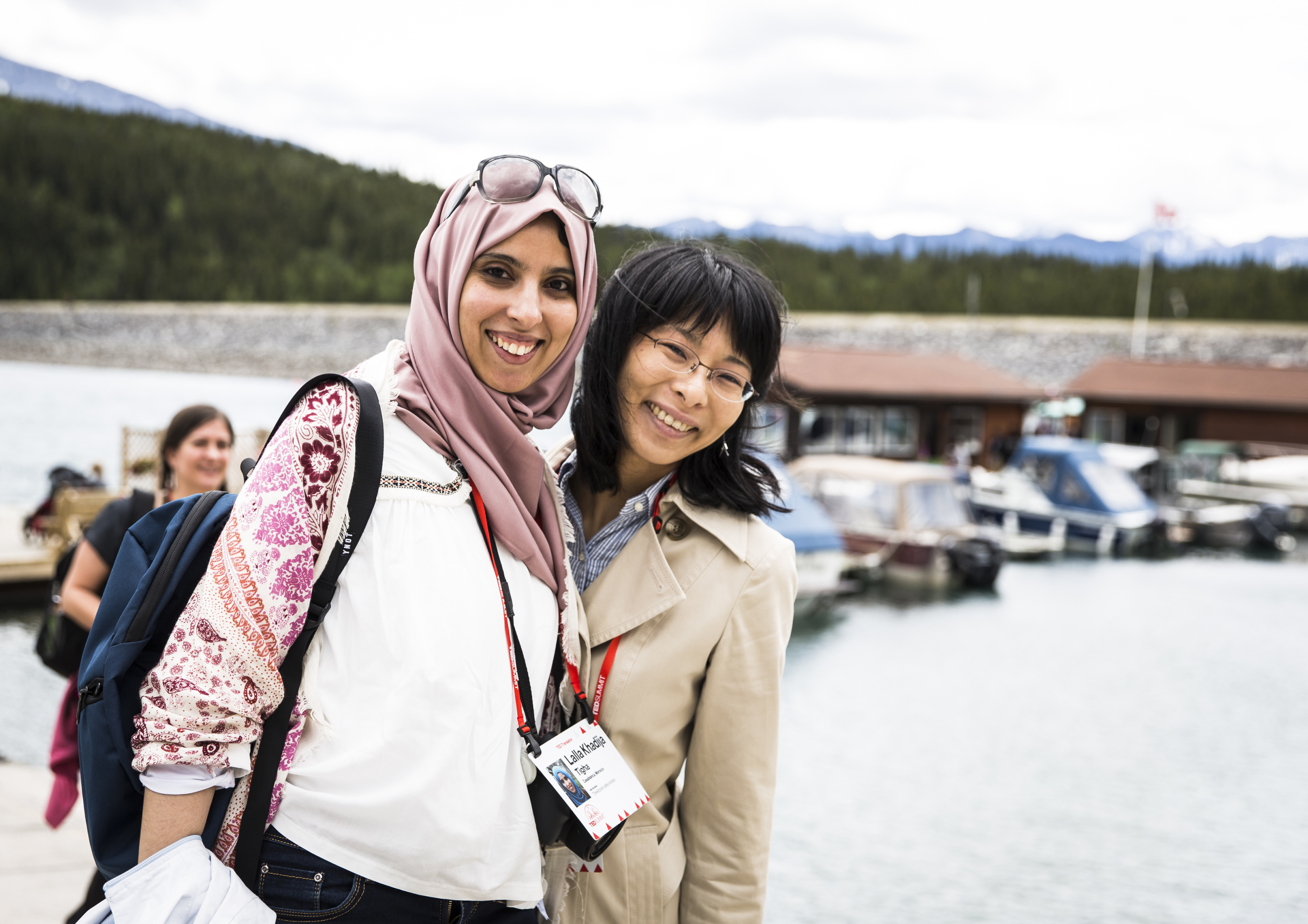 TED Translators connect at the TEDSummit 2016, Banff, Canada. Photo: Marla Aufmuth / TED