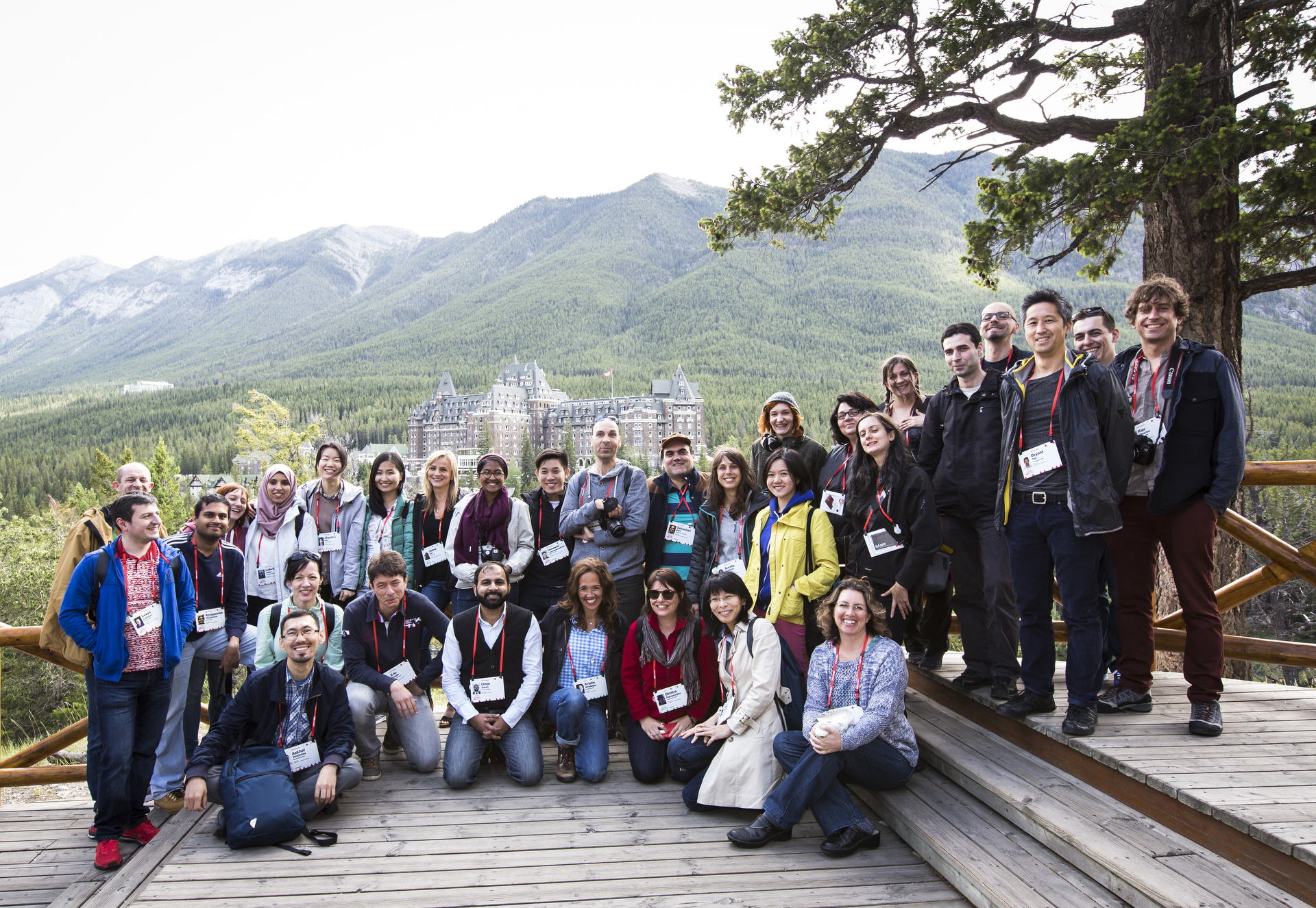 50 TED Translators gather at TEDSummit 2016, June 25, 2016, Banff, Canada. Photo: Marla Aufmuth / TED
