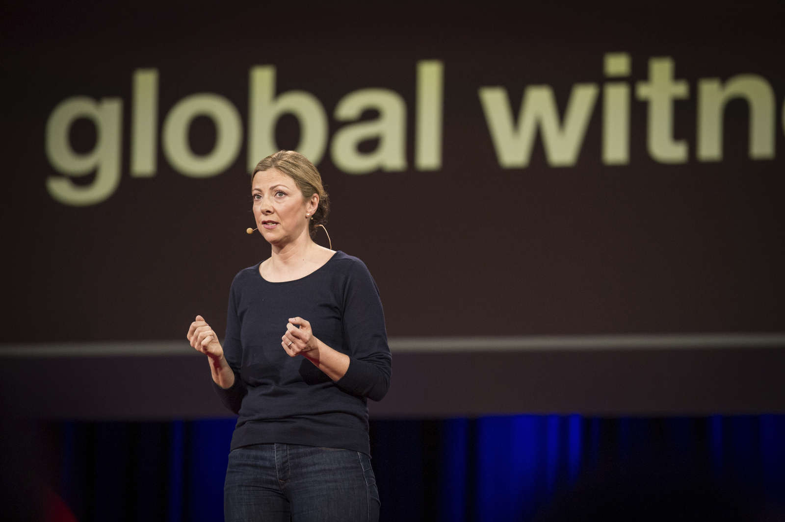 Charmian Gooch accepted the TED Prize in 2014, and launched a campaign to end anonymous shell companies. Her organization Global Witness has been working to make natural resource deals public since 1999. Photo: James Duncan Davidson/TED