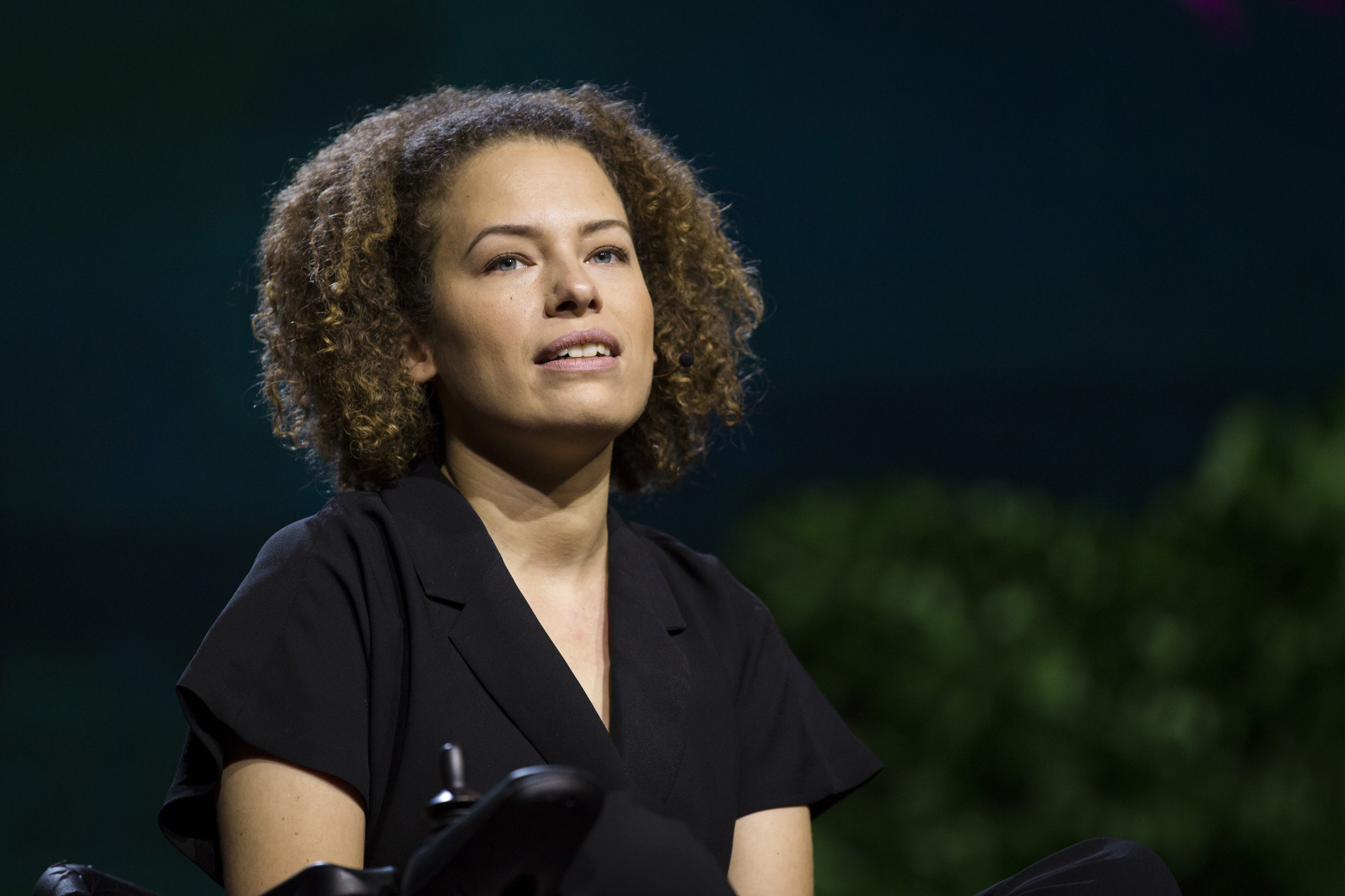 TED Fellow Jen Brea was diagnosed with ME ... and told that her symptoms were caused by something all in her head. She's fighting back. Photo by Ryan Lash/TED.