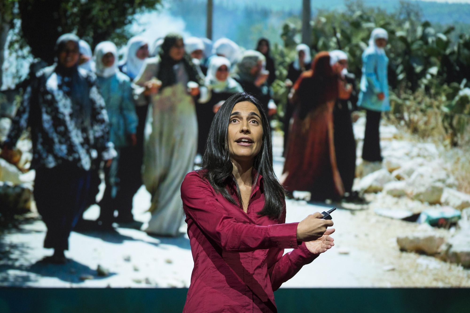 Filmmaker Julia Bacha explores the hidden role of women in modern conflict. Photo: Bret Hartman