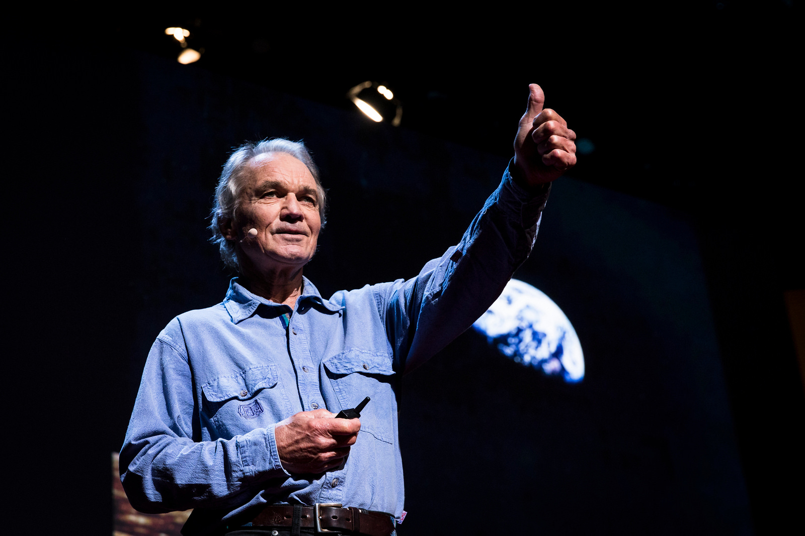 Ian McCallum speaks at TEDWomen 2016: It's About Time, October 26-28, 2016, in San Francisco. Photo: Marla Aufmuth / TED