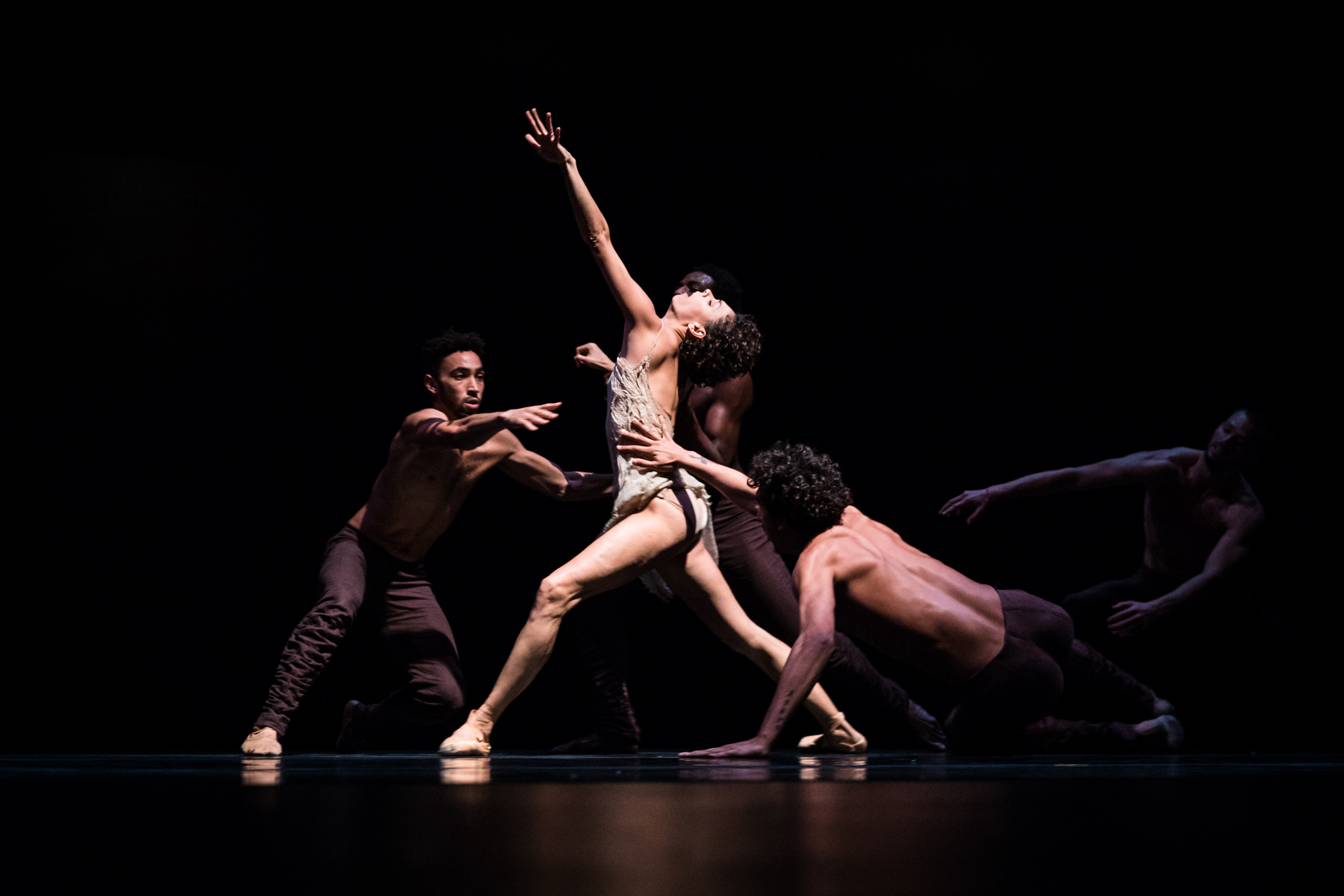 Alonzo King LINES Ballet company, at TEDWomen 2016 - It's About Time, October 26-28, 2016, Yerba Buena Centre for the Arts, San Francisco, California. Photo: Marla Aufmuth / TED