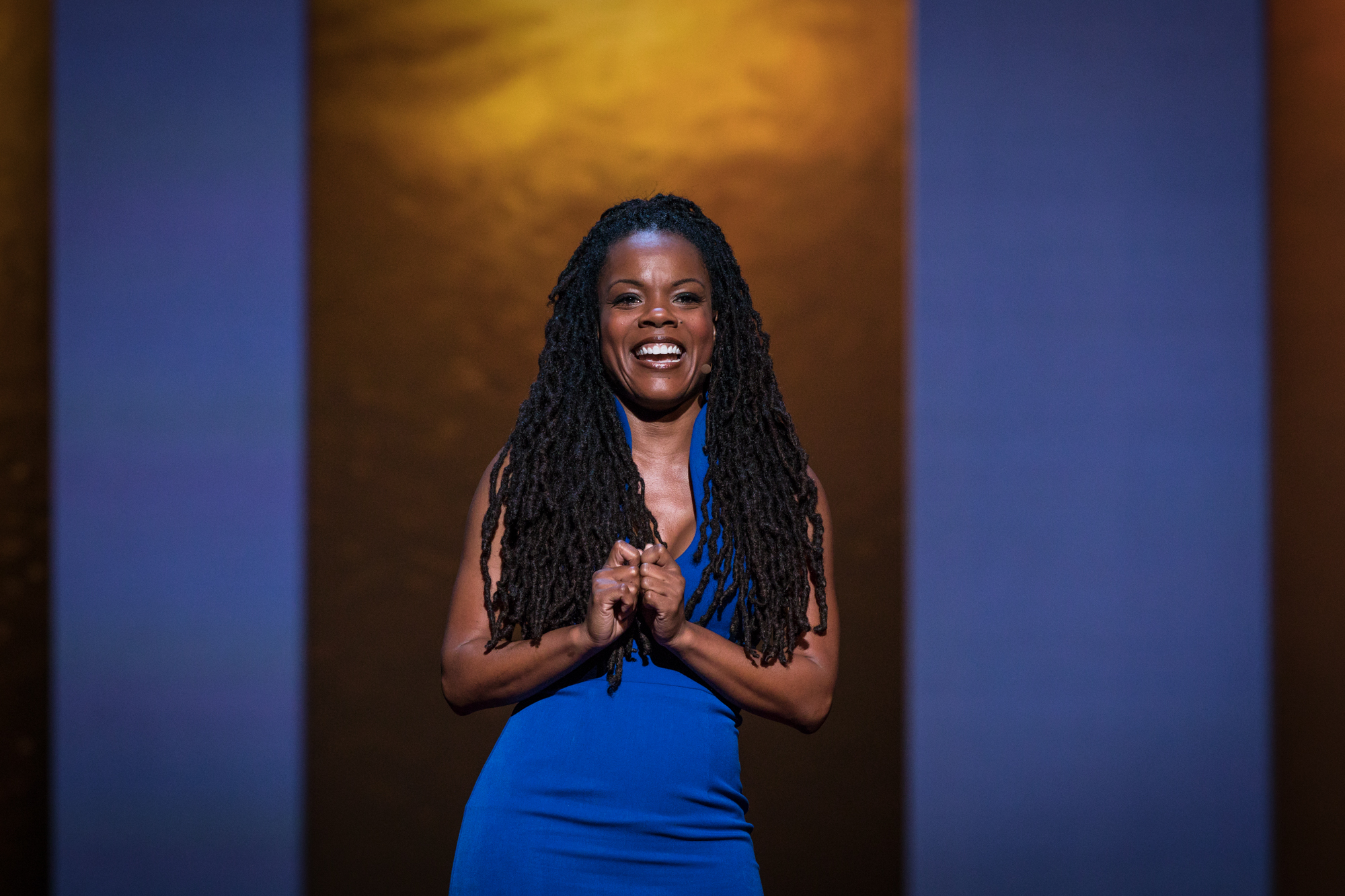C. Nicole Mason at TEDWomen 2016 - It's About Time, October 26-28, 2016, Yerba Buena Centre for the Arts, San Francisco, California. Photo: Marla Aufmuth / TED