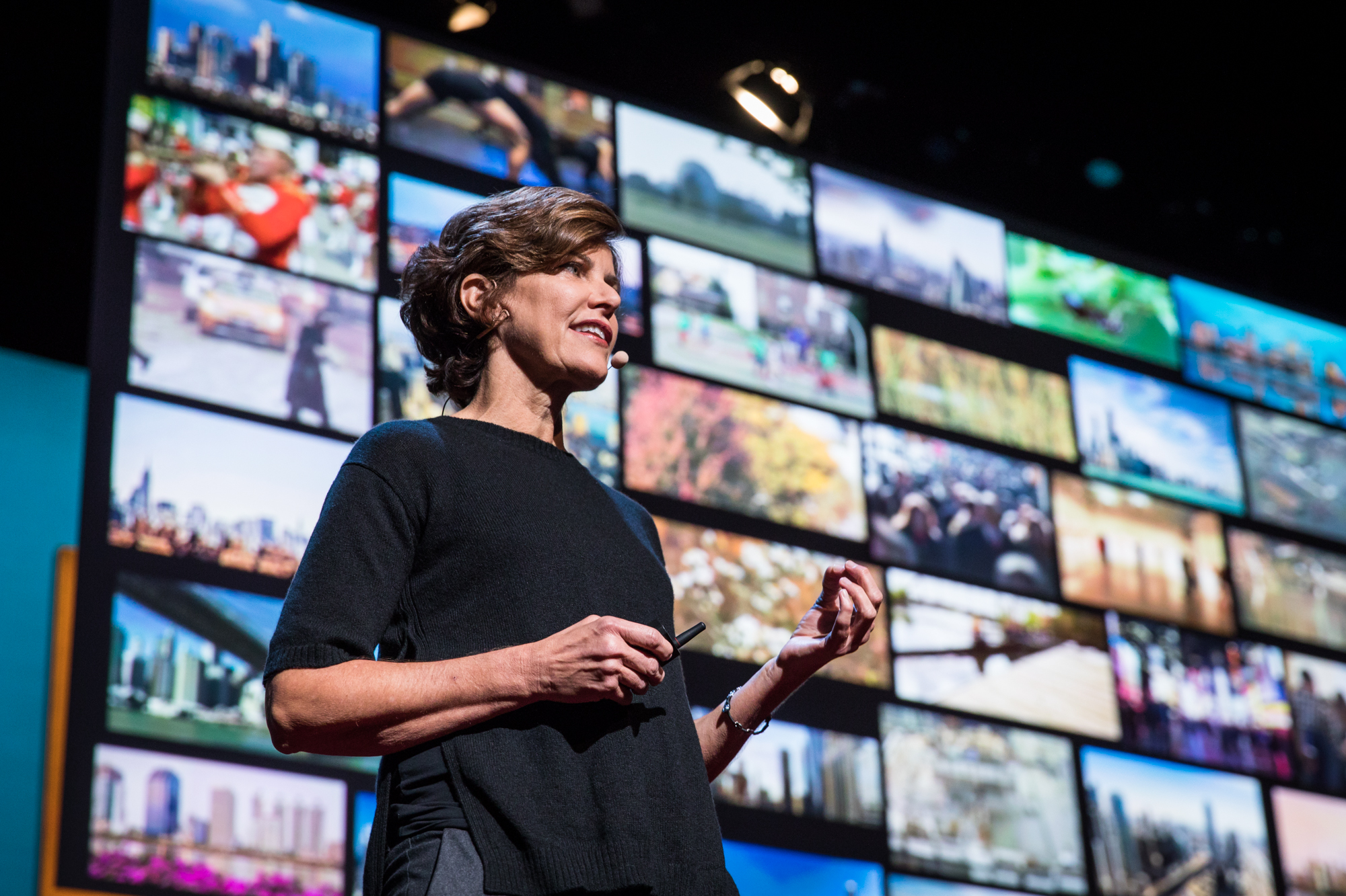 Jeanne Gang at TEDWomen 2016 - It's About Time, October 26-28, 2016, Yerba Buena Centre for the Arts, San Francisco, California. Photo: Marla Aufmuth / TED