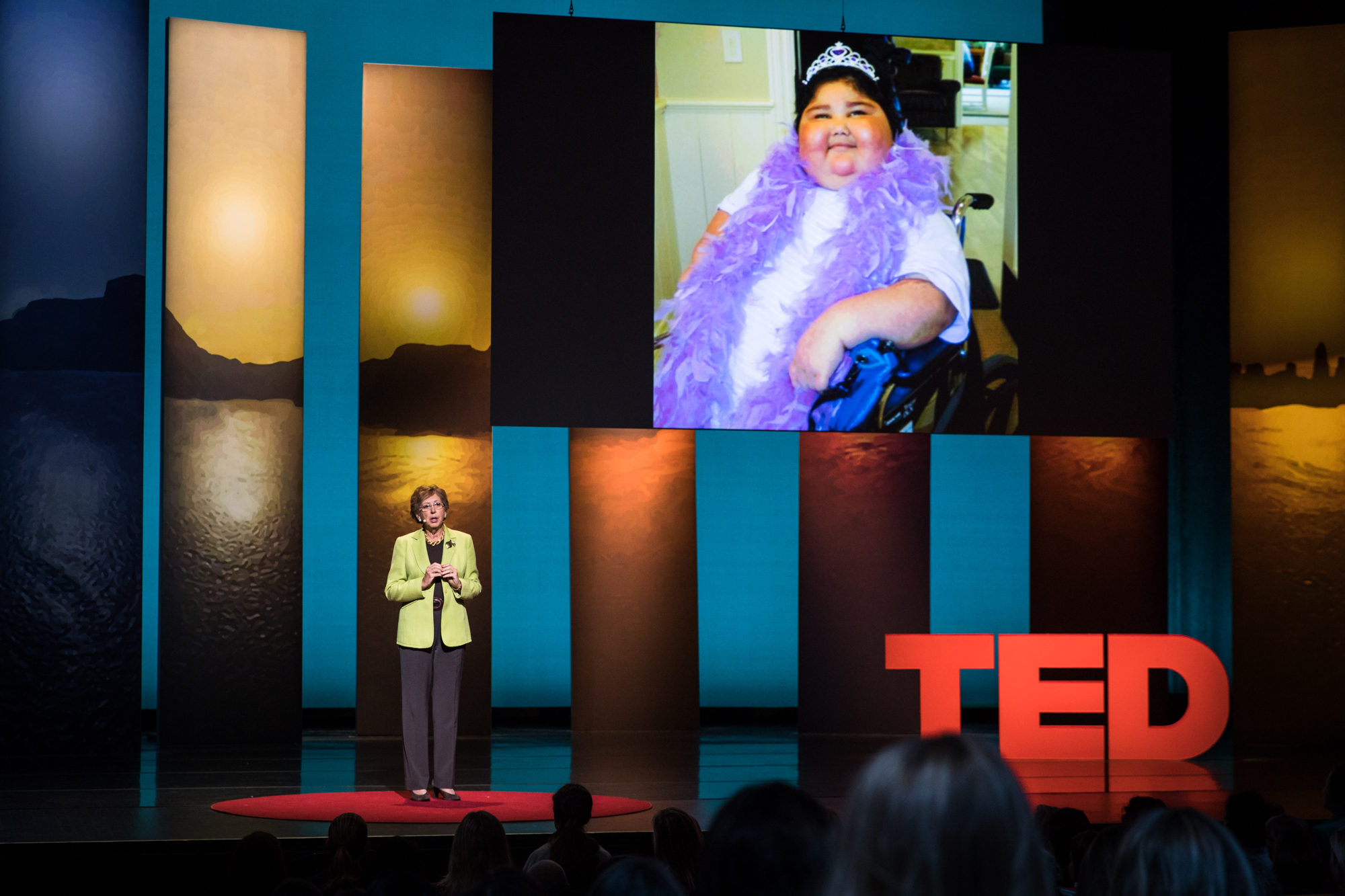 Kathy Hull at TEDWomen 2016 - It's About Time, October 26-28, 2016, Yerba Buena Centre for the Arts, San Francisco, California. Photo: Marla Aufmuth / TED