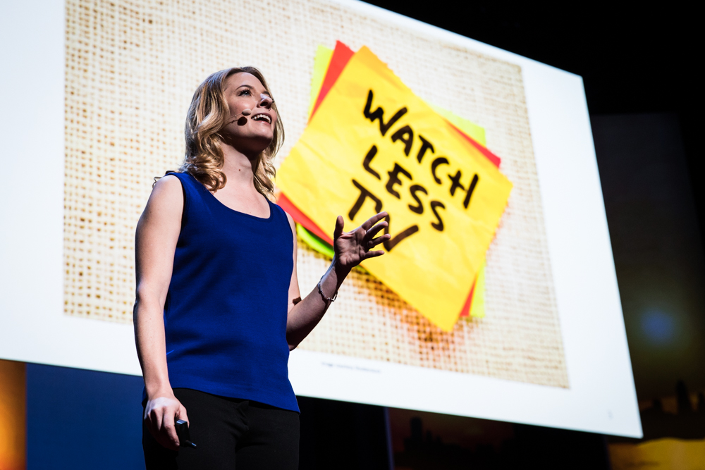 Laura Vanderkam at TEDWomen 2016 - It's About Time, October 26-28, 2016, Yerba Buena Centre for the Arts, San Francisco, California. Photo: Marla Aufmuth / TED
