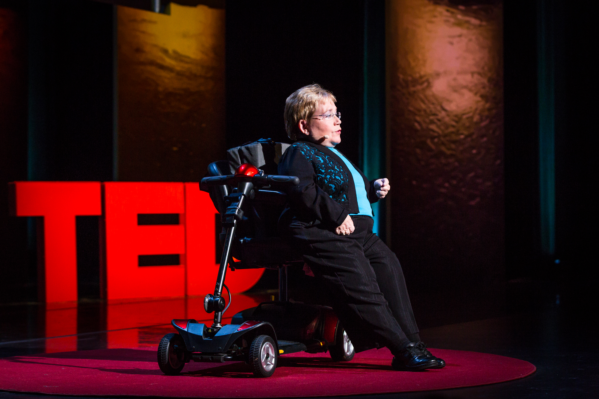 Michele L. Sullivan at TEDWomen 2016 - It's About Time, October 26-28, 2016, Yerba Buena Centre for the Arts, San Francisco, California. Photo: Marla Aufmuth / TED