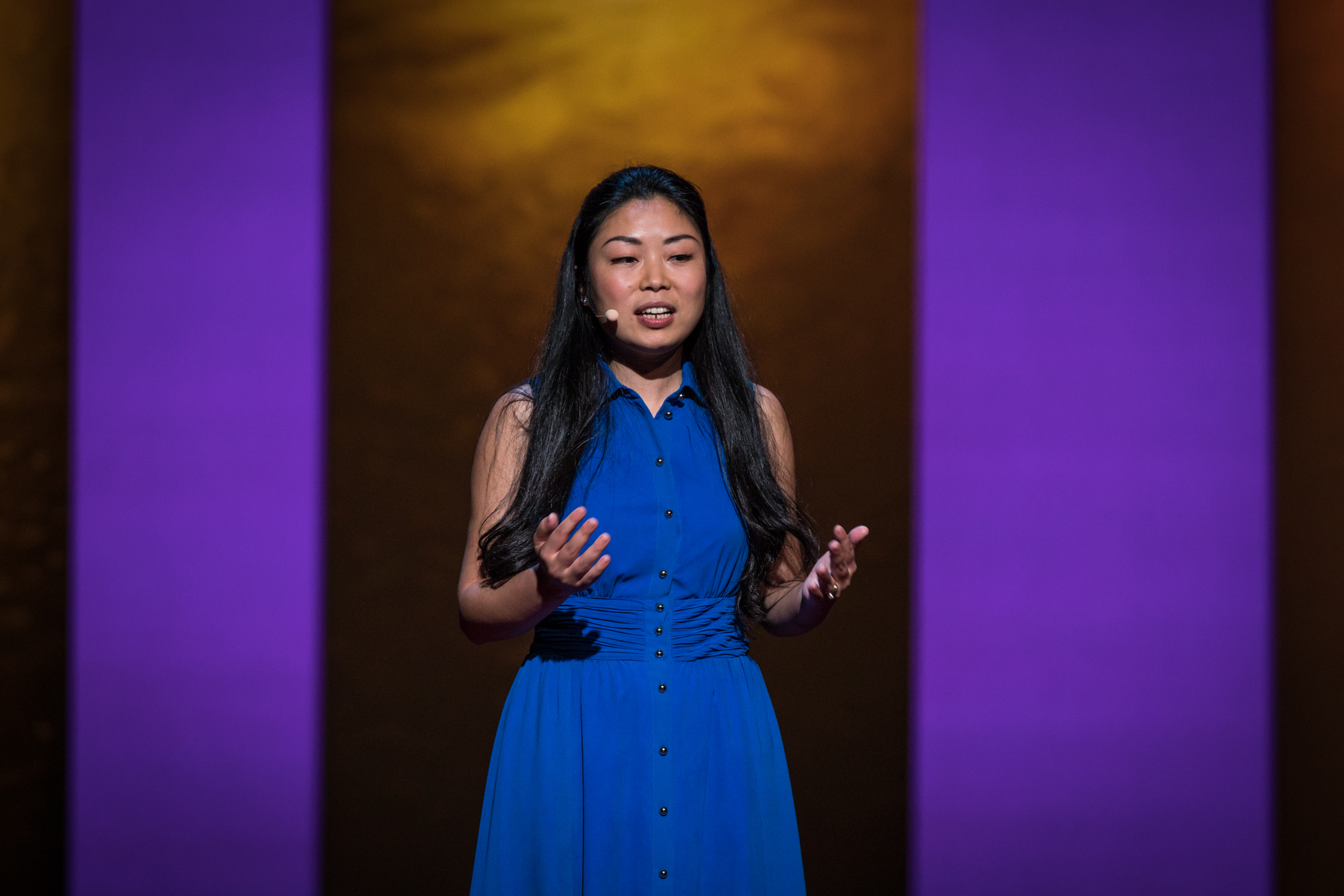 Nanfu Wang at TEDWomen 2016 - It's About Time, October 26-28, 2016, Yerba Buena Centre for the Arts, San Francisco, California. Photo: Marla Aufmuth / TED