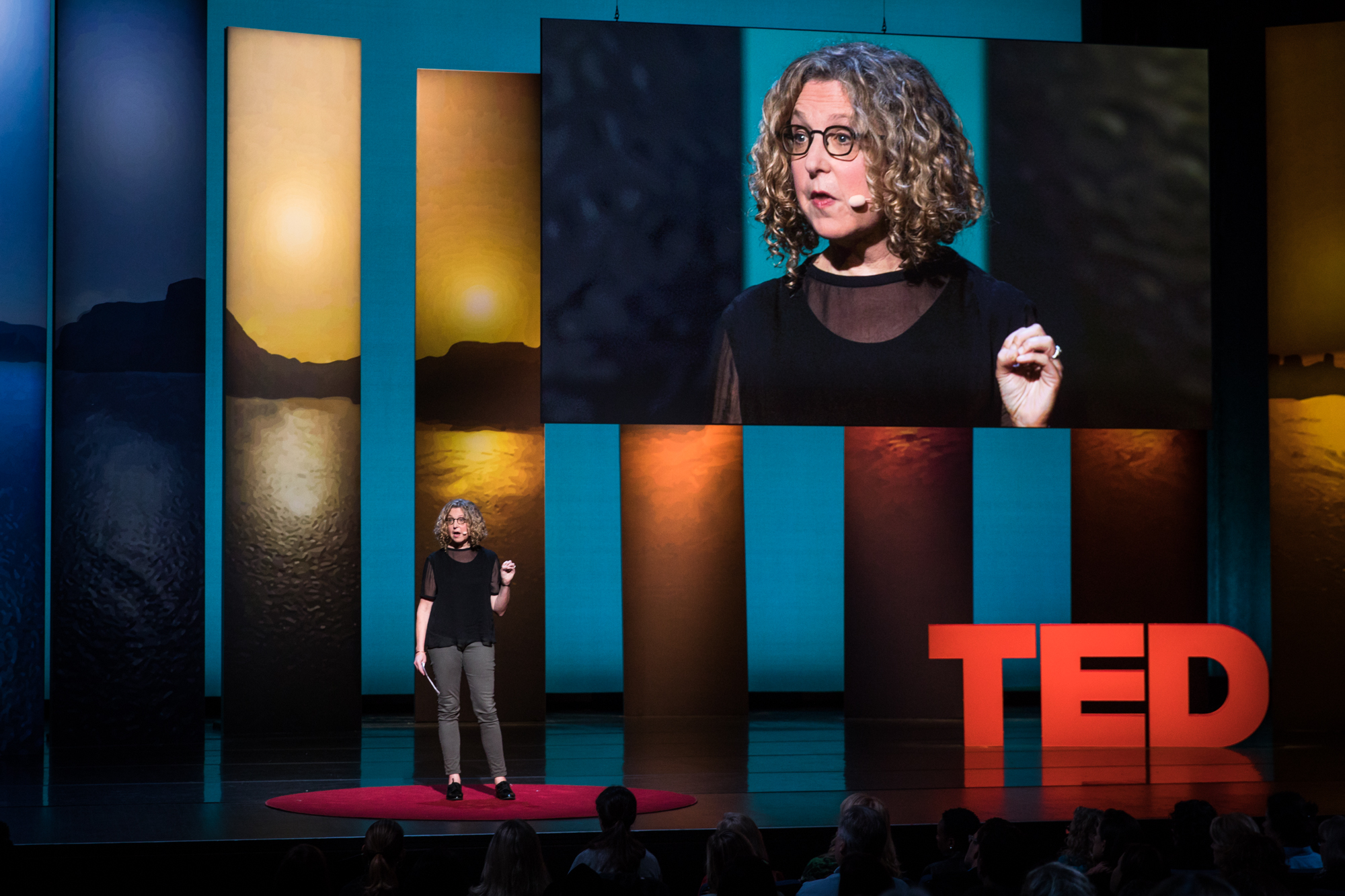 Peggy Orenstein at TEDWomen 2016 - It's About Time, October 26-28, 2016, Yerba Buena Centre for the Arts, San Francisco, California. Photo: Marla Aufmuth / TED