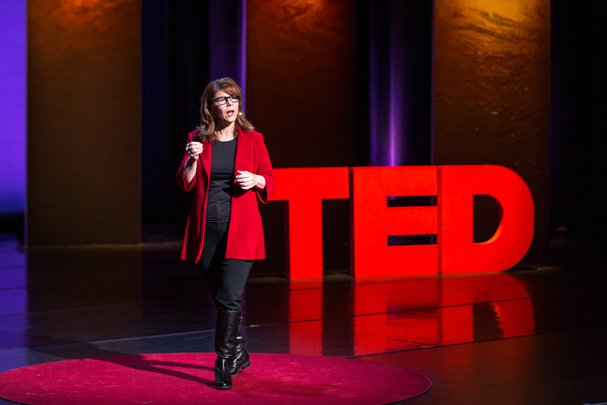 Stacy Smith at TEDWomen 2016 - It's About Time, October 26-28, 2016, Yerba Buena Centre for the Arts, San Francisco, California. Photo: Marla Aufmuth / TED