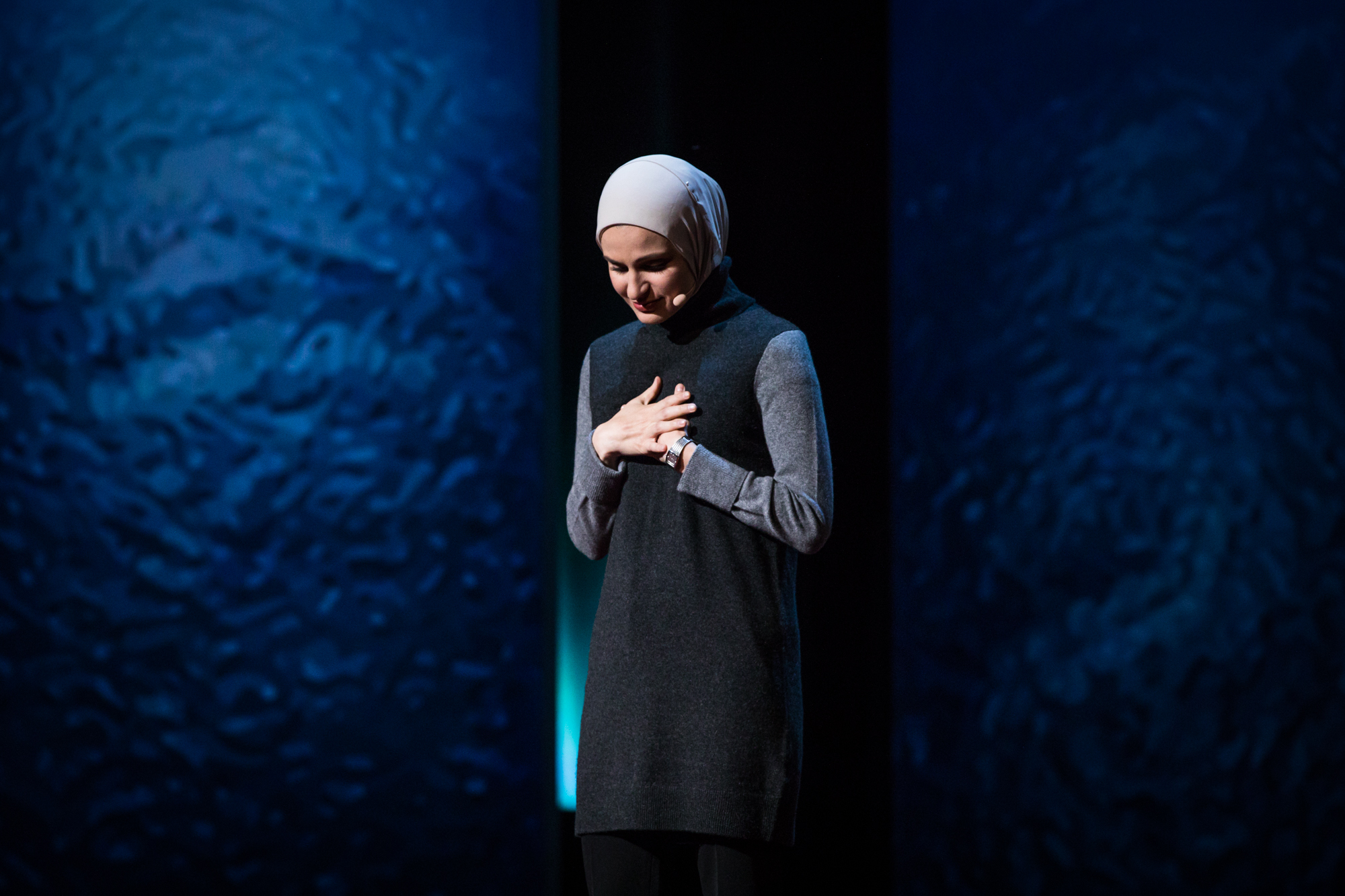 Suzanne Barakat at TEDWomen 2016 - It's About Time, October 26-28, 2016, Yerba Buena Centre for the Arts, San Francisco, California. Photo: Marla Aufmuth / TED