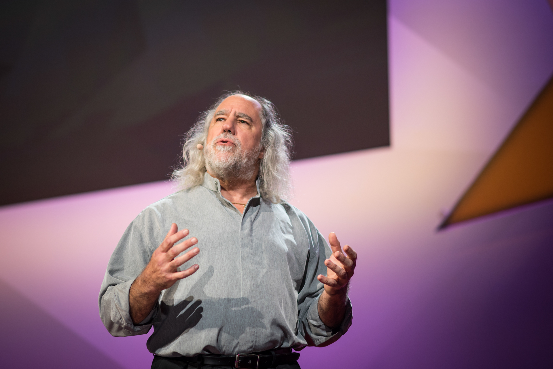 Grady Booch speaks at TED@IBM salon - Spark, November 16, 2016, San Francisco Jazz, San Francisco, California. Photo: Russell Edwards/TED