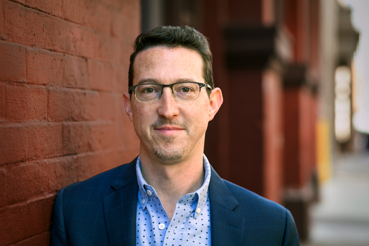 """Colin Helms comes to TED from MTV, where he was the SVP of connected content. He says, """"My team's challenge is to make TED available and relevant to audiences we haven't reached yet."""" Credit: Dian Lofton / TED"""
