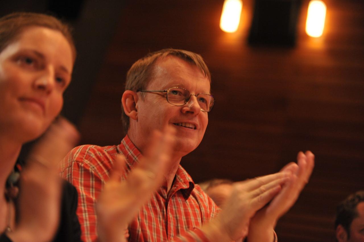 Hans Rosling. Credit: TED / James Duncan Davidson