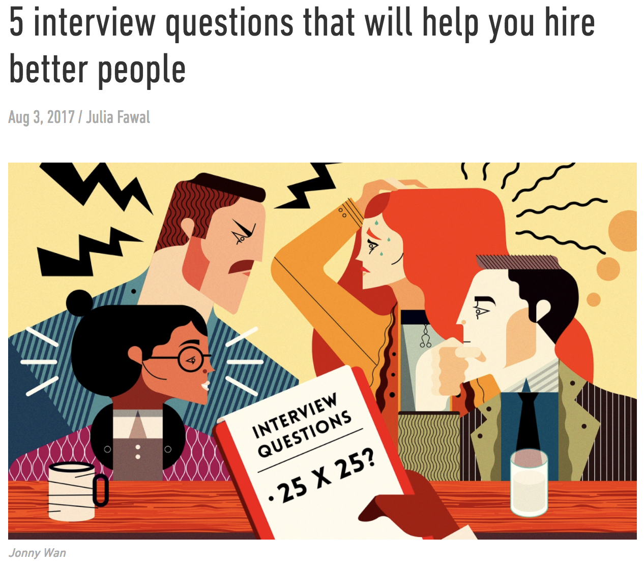 TED Ideas interview questions