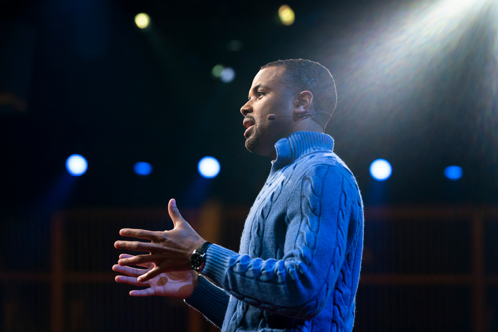 Zachary Wood. Photo: Bret Hartman / TED