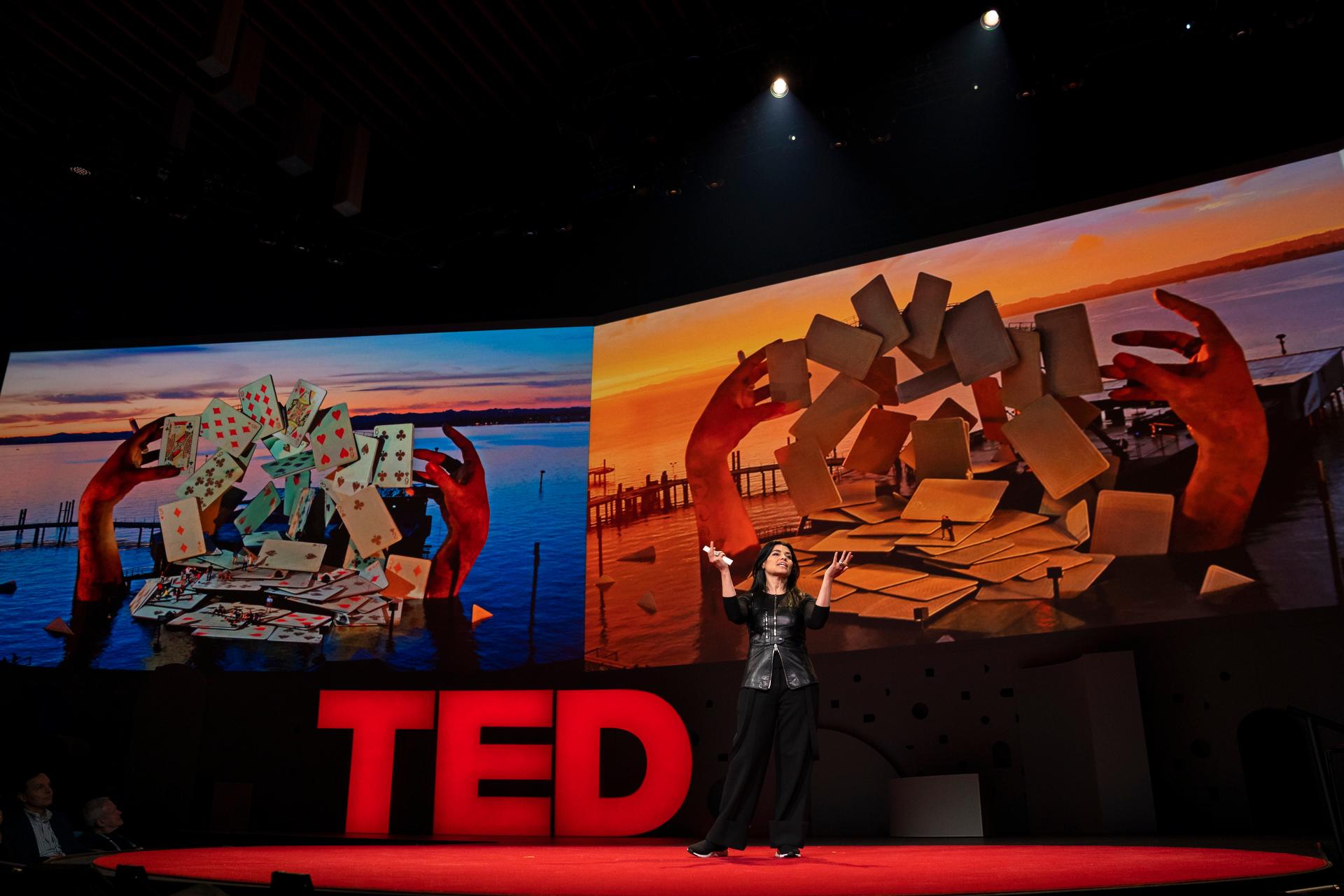 Es Devlin speaks at TED2019