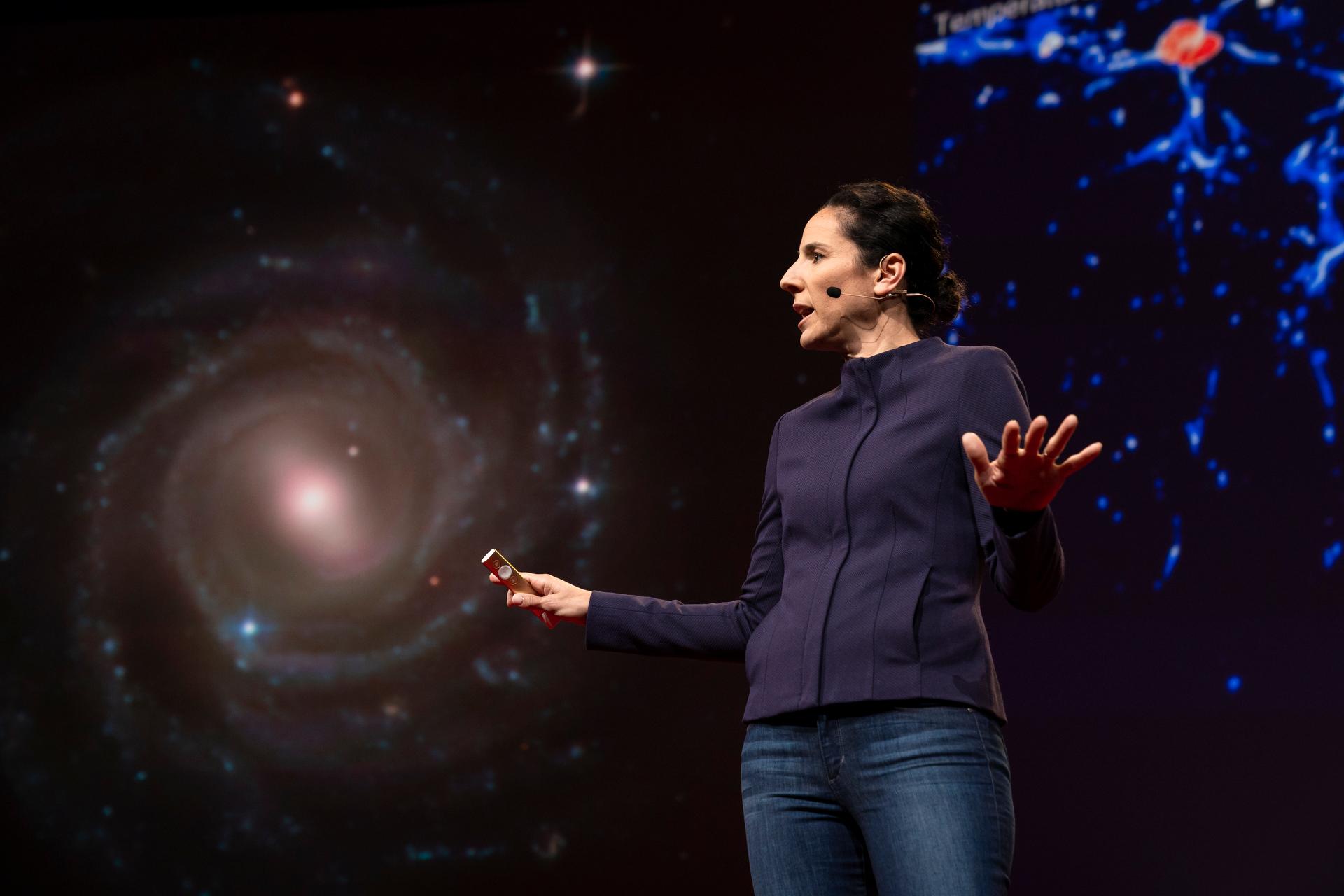 Juna Kollmeier speaks at TED2019
