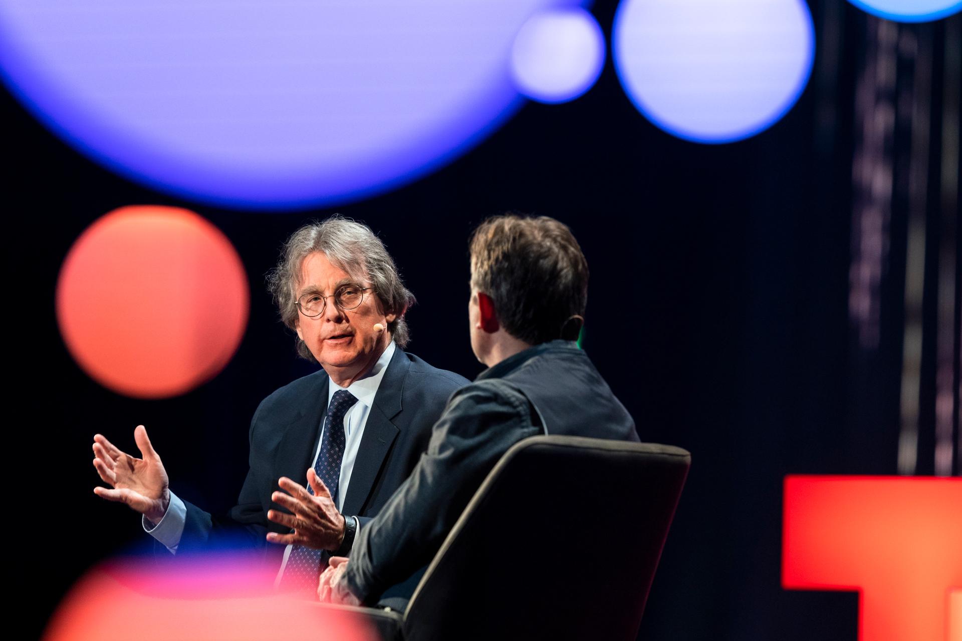 Roger McNamee speaks at TED2019