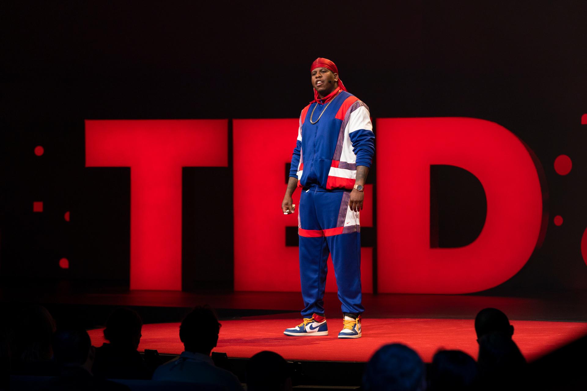 Jon Gray speaks at TED2019