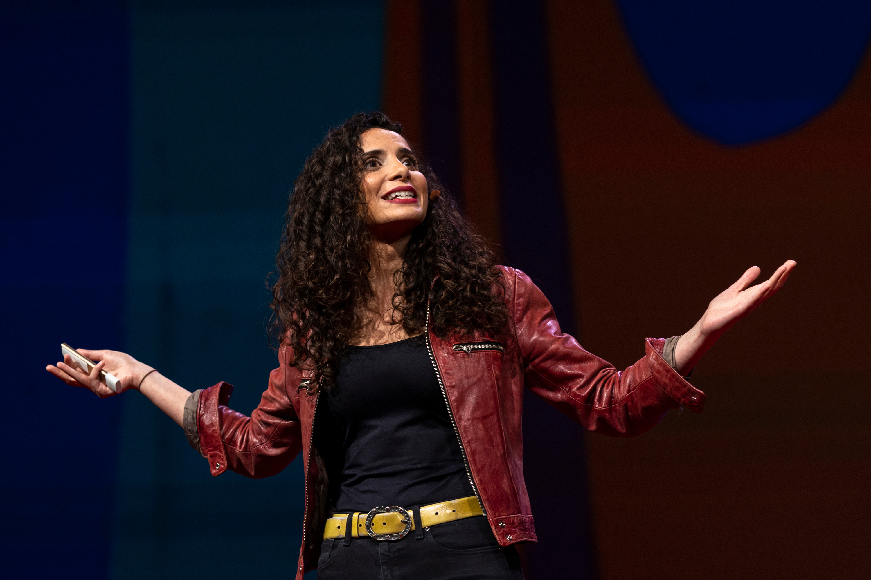 Ella Al-Shamahi speaks at TED2019
