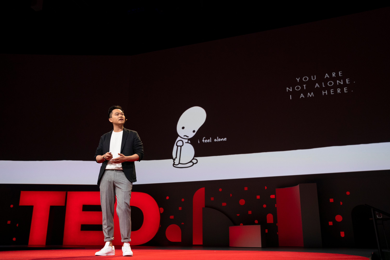 Jonny Sun speaks at TED2019
