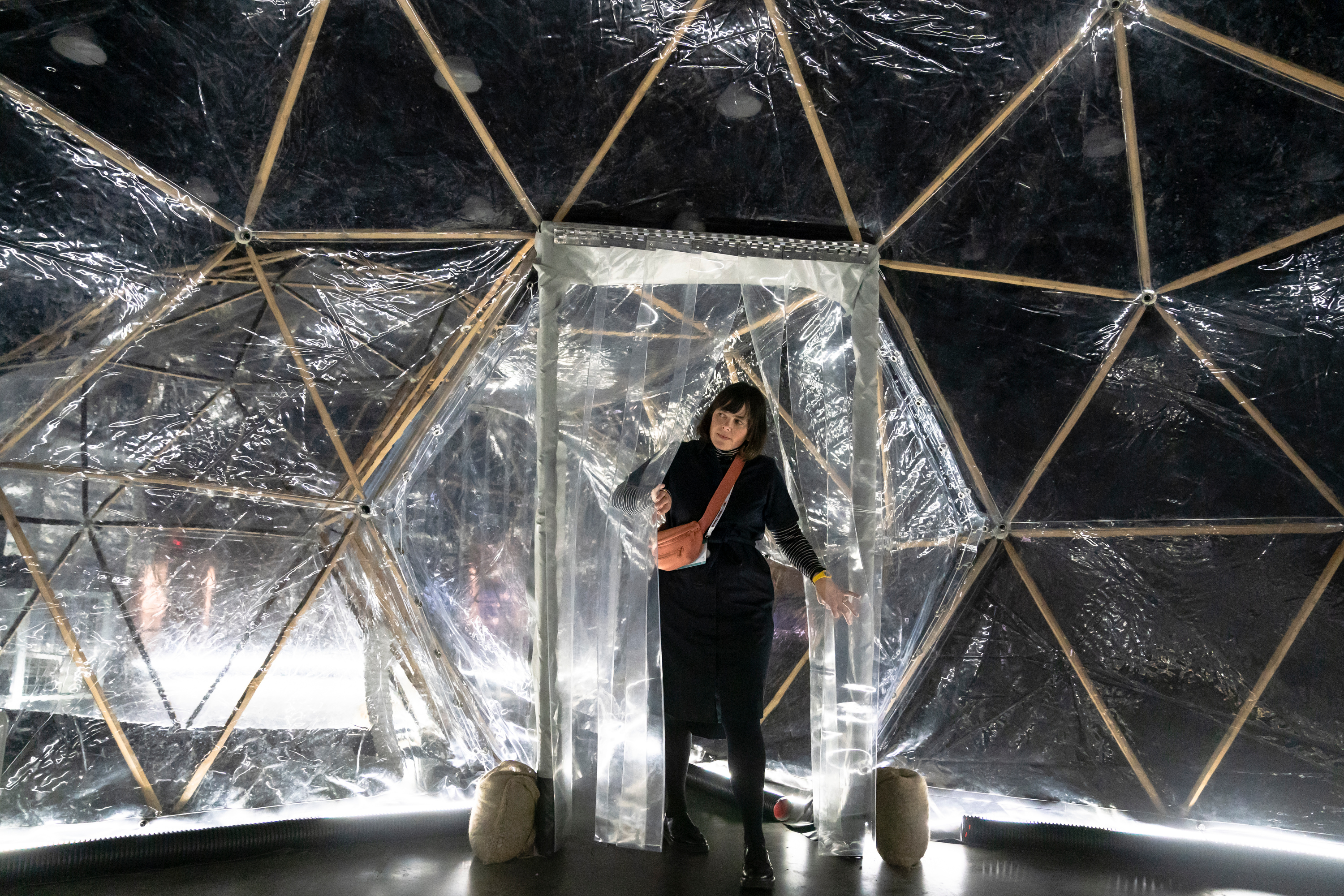 Pollution Pods at TED2019