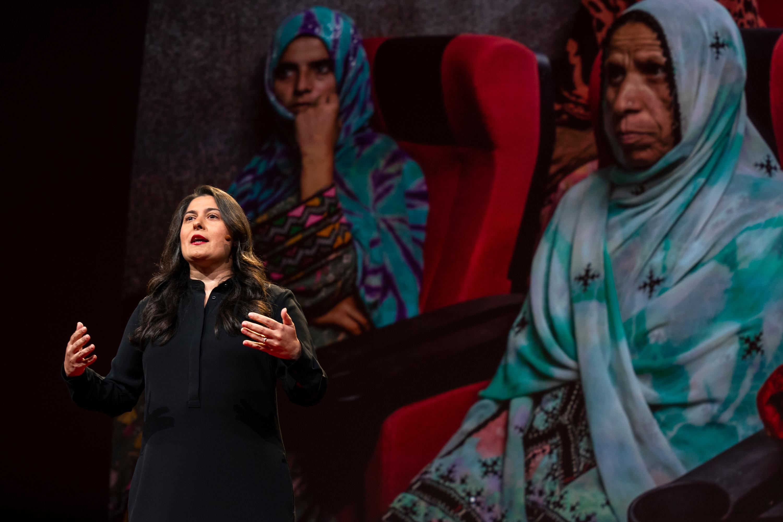 Sharmeen Obaid-Chinoy speaks at TED2019