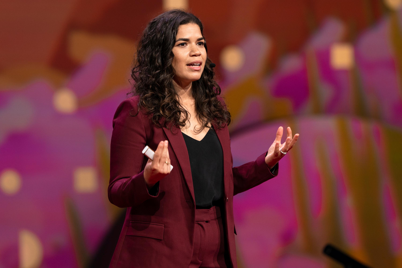 America Ferrera speaks at TED2019
