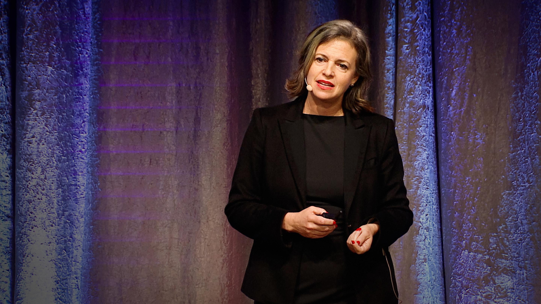 Jennifer Granick speaking at TEDxStandford.