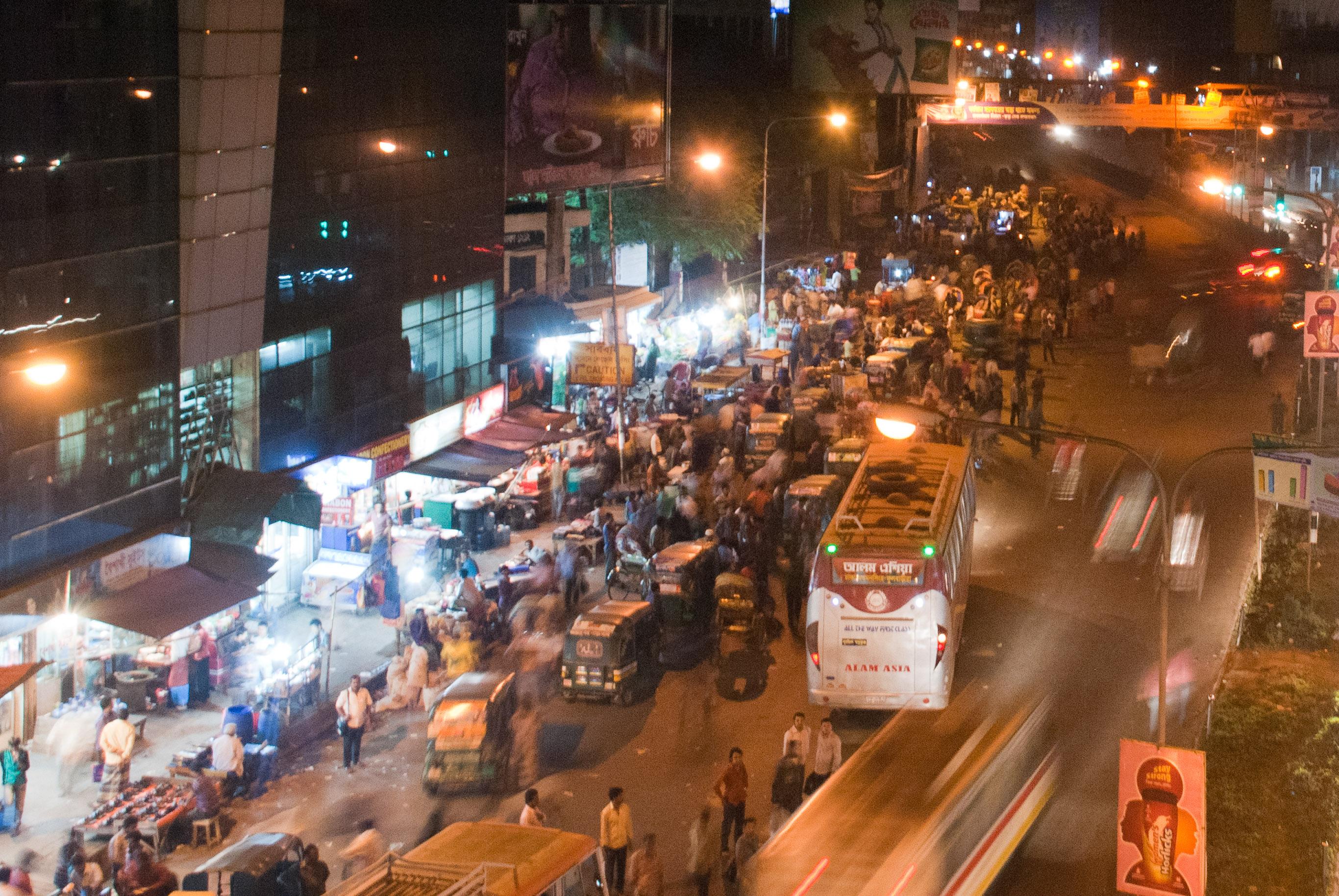 Dhaka Streets - Mohakhali area